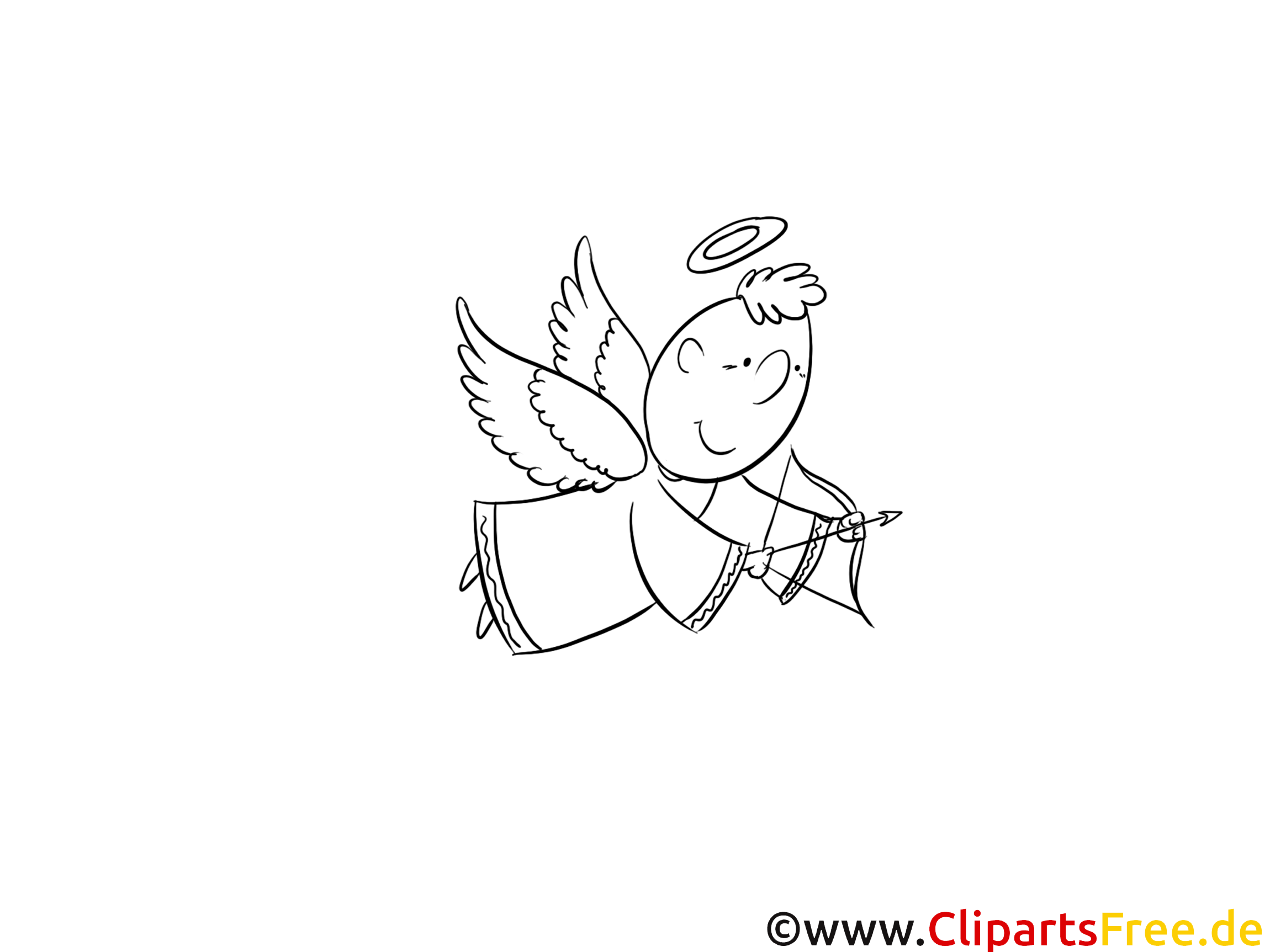 Image gratuite ange – Baptême à imprimer