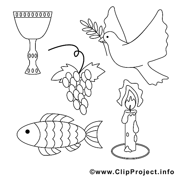 religion dessin  communion gratuits à imprimer