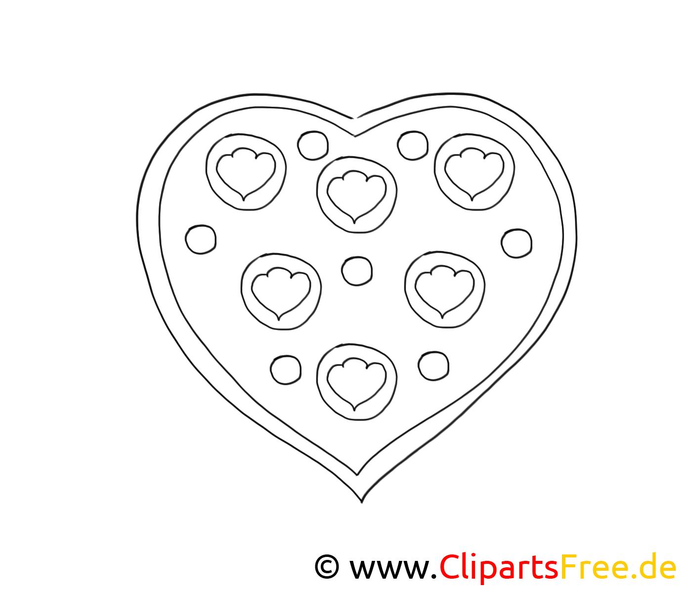 Clip Art Gratuit Coeur Saint Valentin A Imprimer Saint