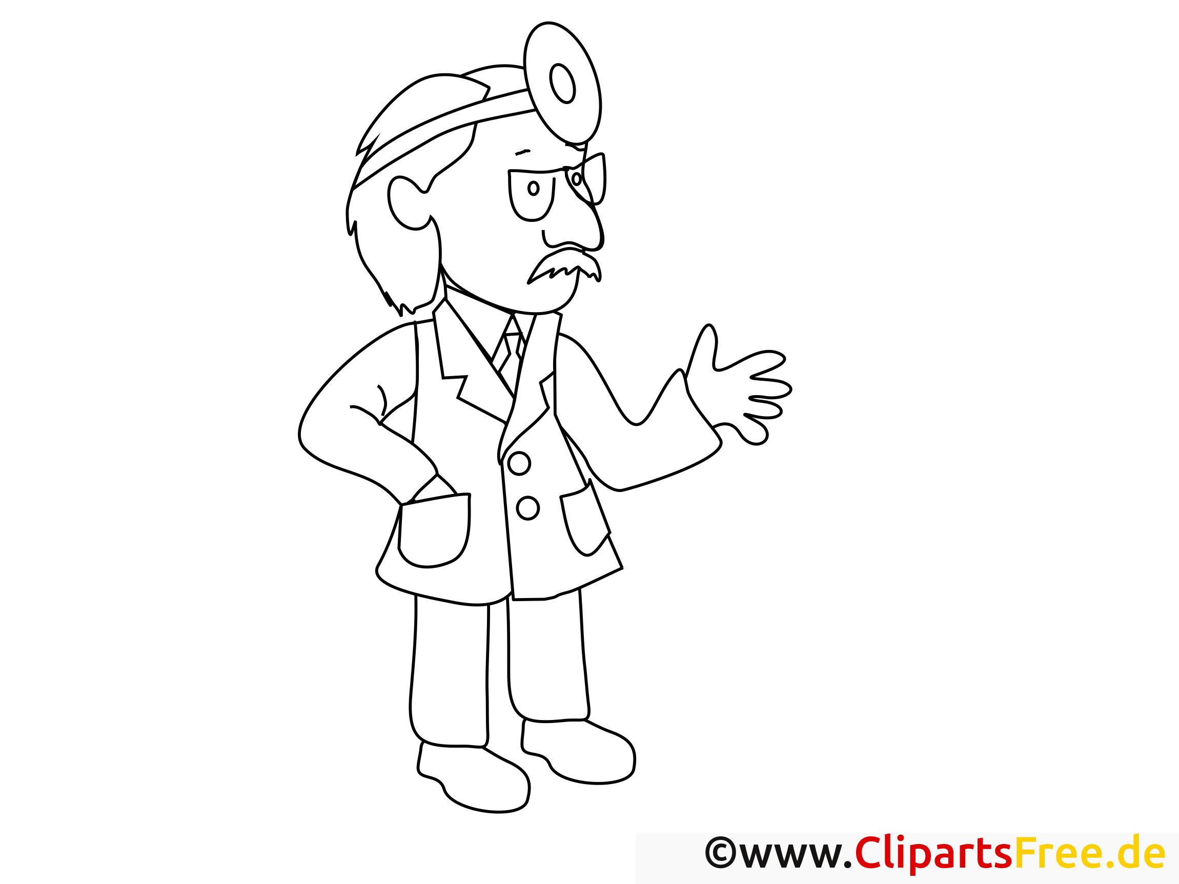 Docteur illustration – Santé à colorier