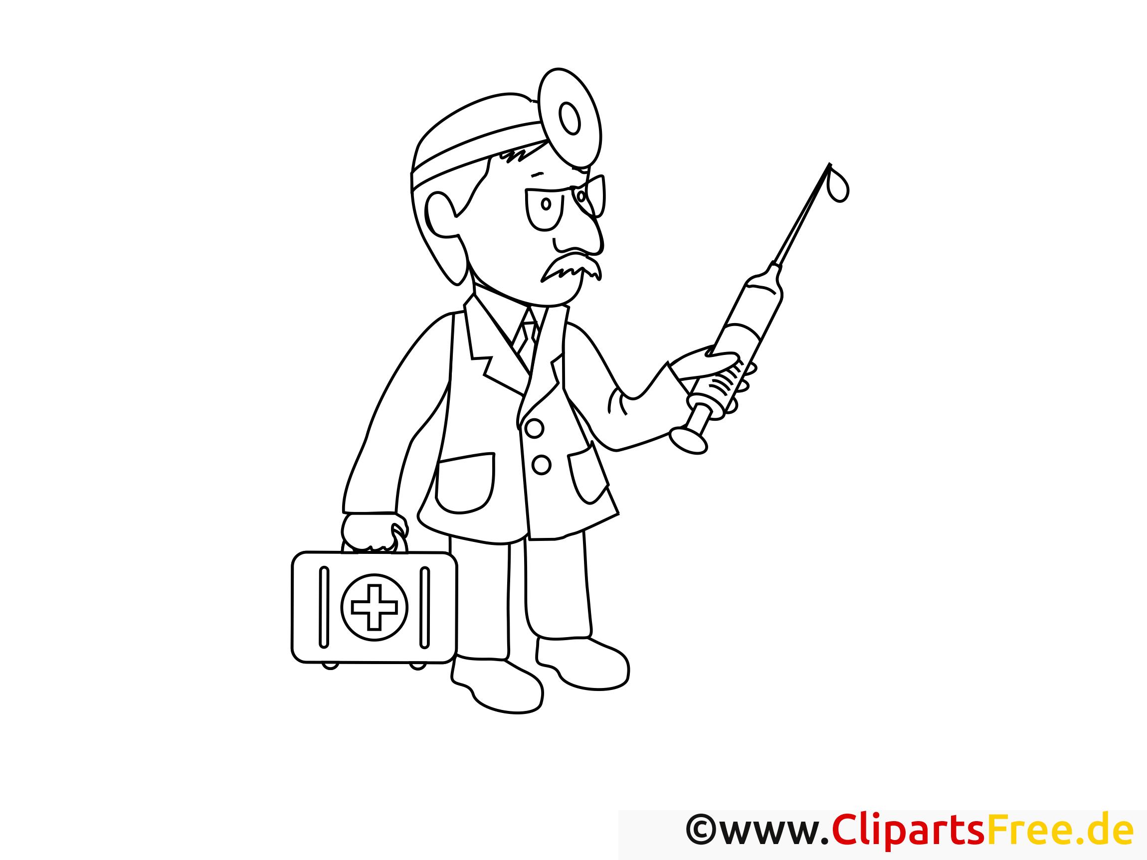 Pharmacie dessin gratuit – Santé à colorier