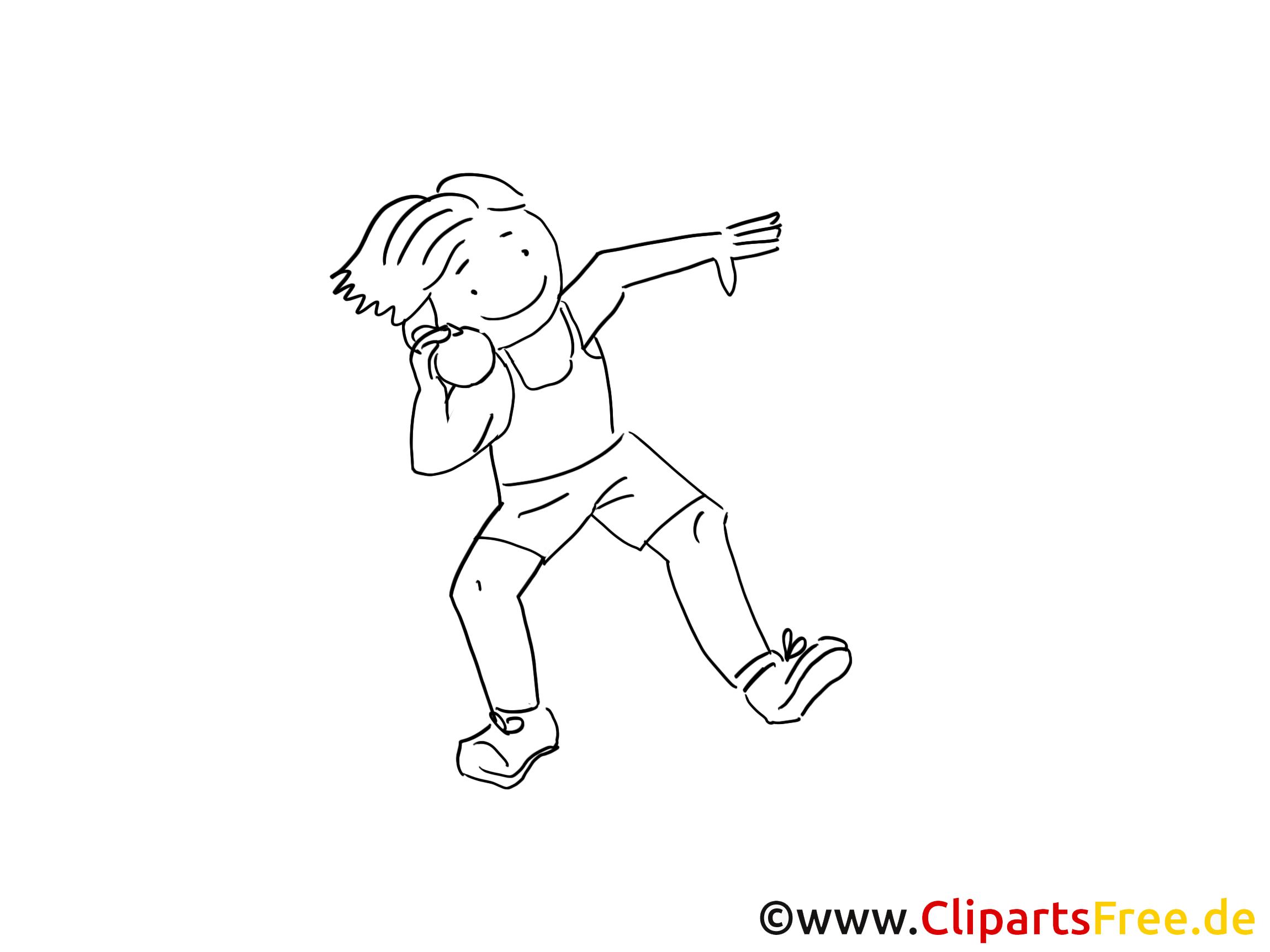 Jongleur dessins gratuits – Sport à colorier