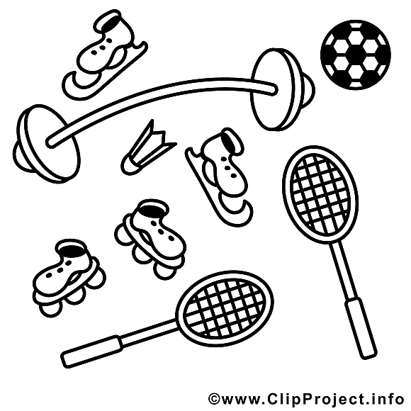 Matériel images – Sport gratuits à imprimer