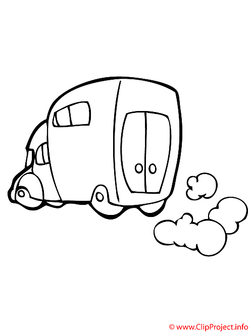 Camion coloriage