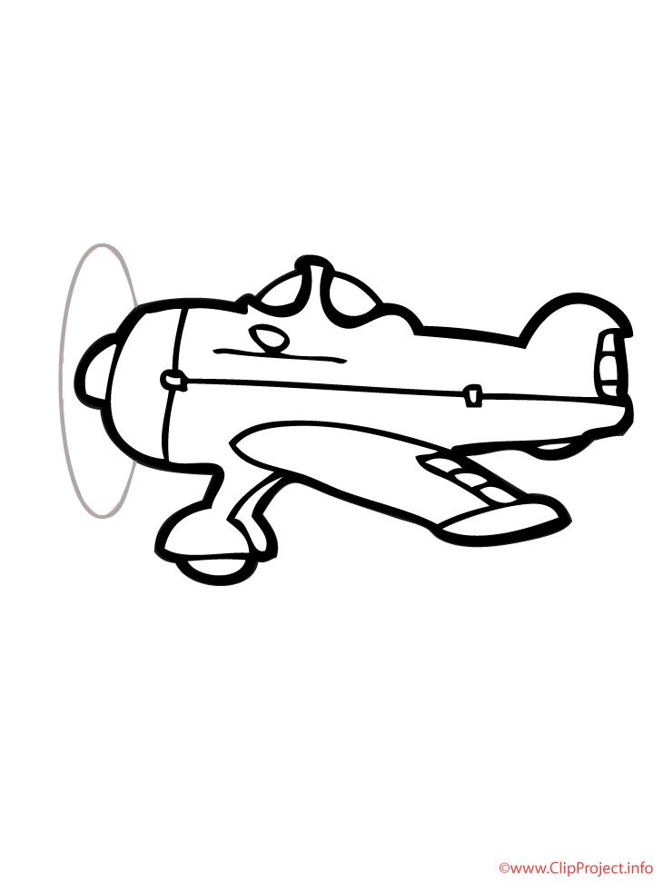 Cliparts gratuis avions à imprimer