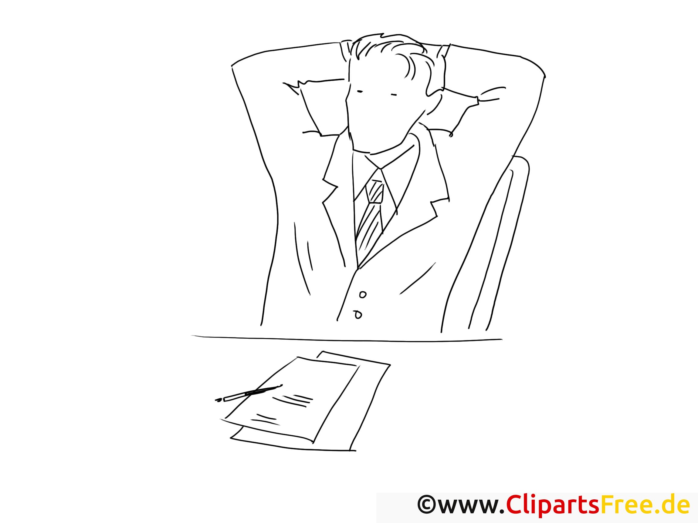 Bureau cliparts gratuis – Travail à imprimer