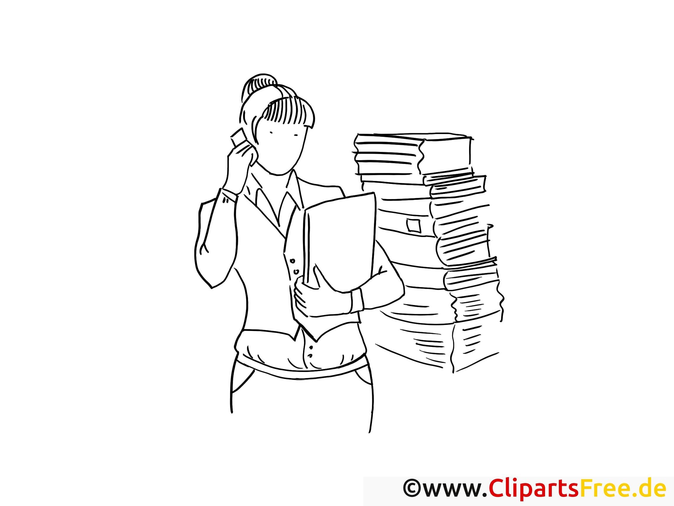 Livres clipart – Travail dessins à colorier