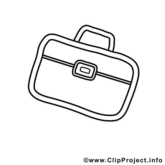 Portefeuille dessin à télécharger – Travail à colorier