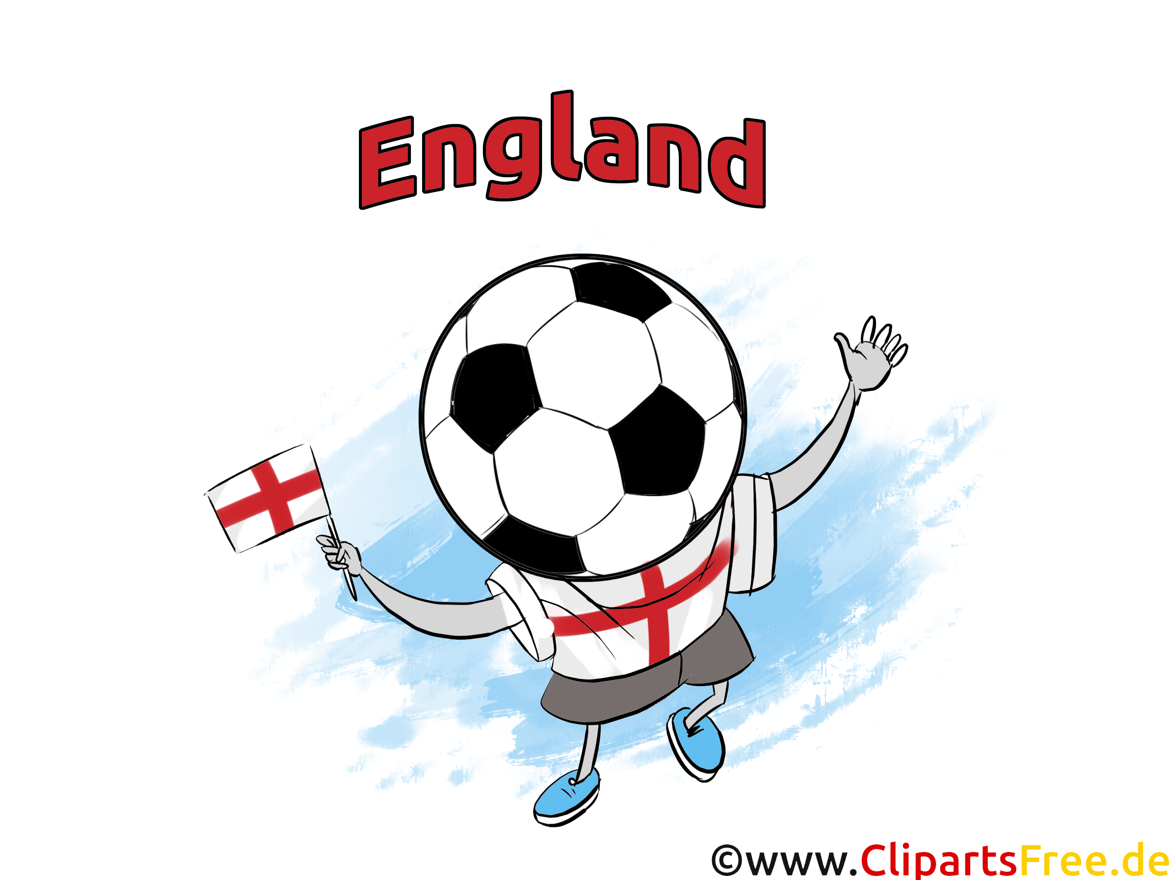 Clip art gratuit Images Football Angleterre