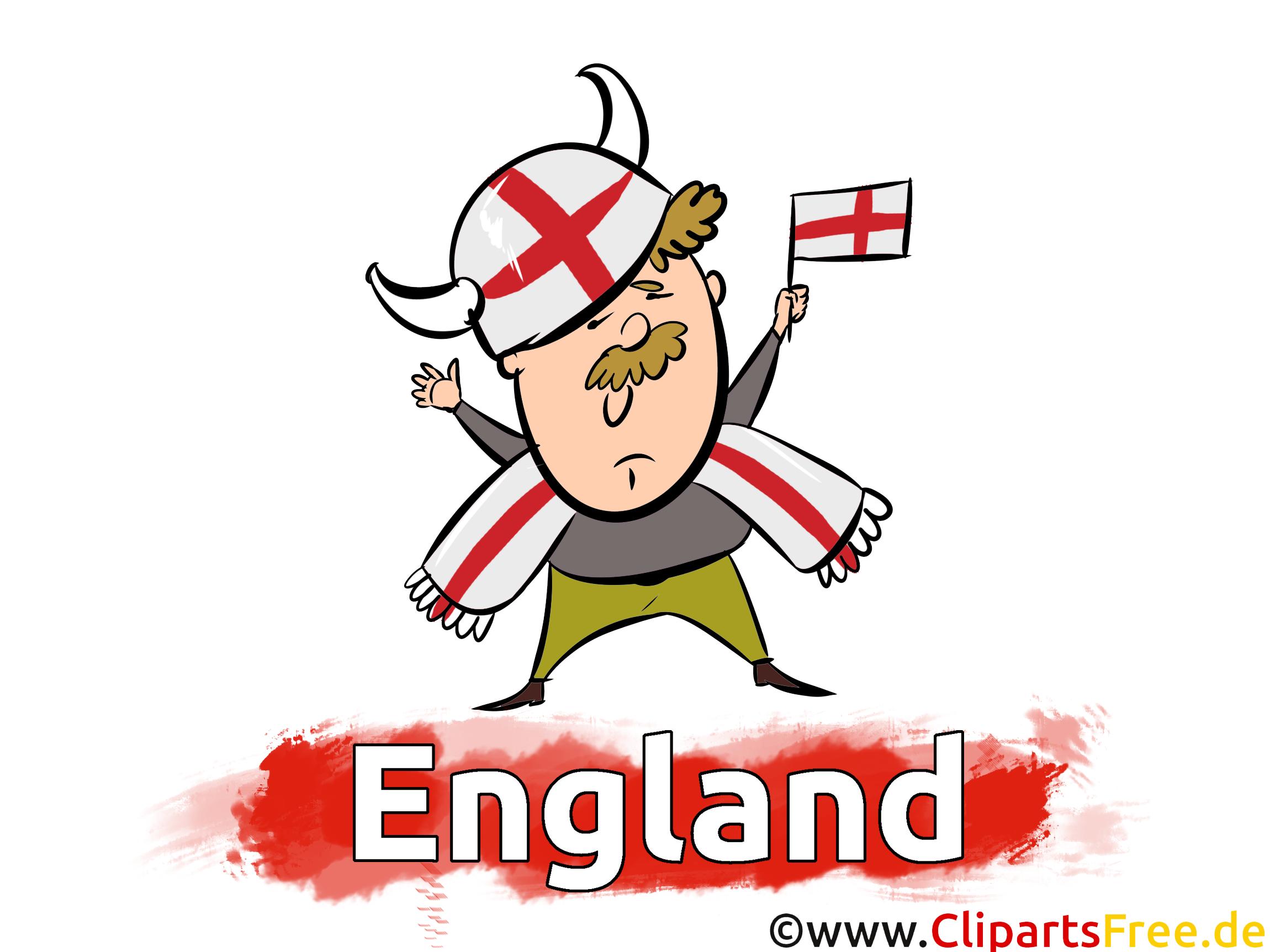 Gratuit Angleterre Cliparts Joueurs Soccer télécharger