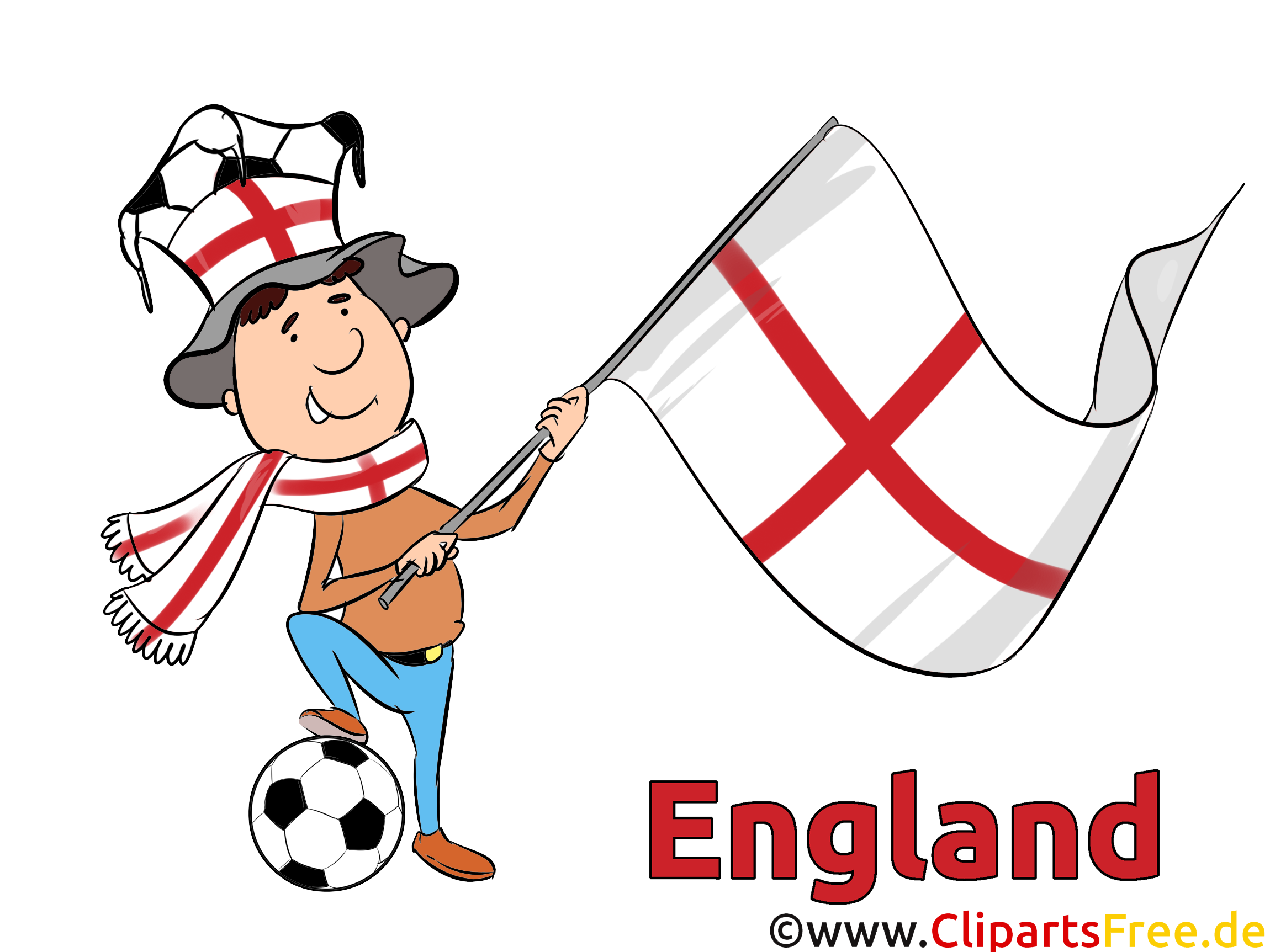 Soccer Angleterre Coupe Du Monde pour télécharger