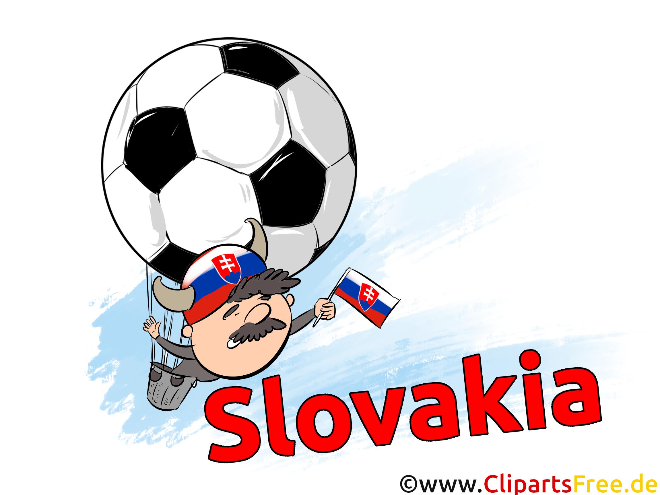 Clip art Slovaquie Images Football pour télécharger
