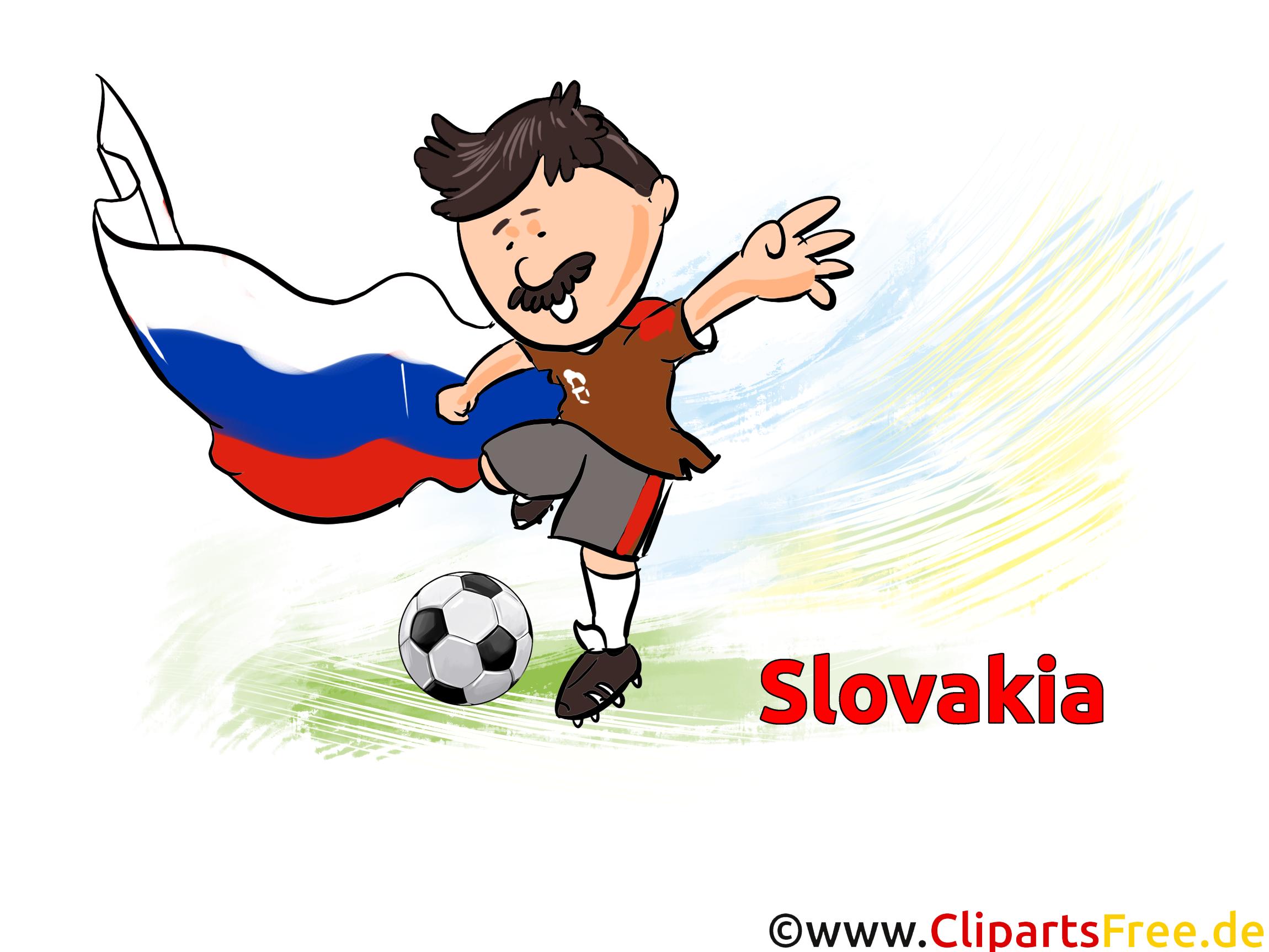 Drapeau Images Slovaquie Football télécharger gratuitement
