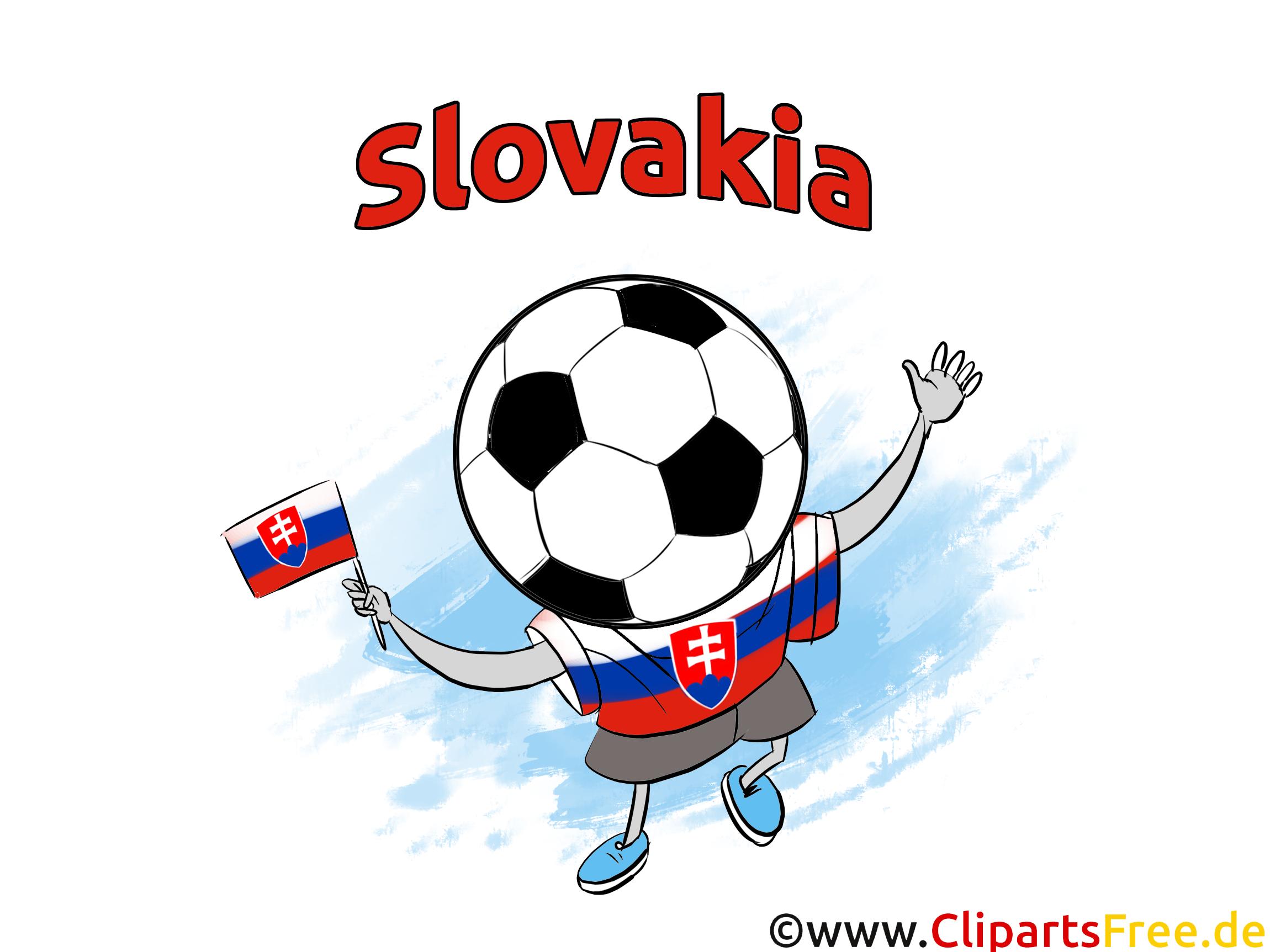 Illustrations Slovaquie Football Joueurs télécharger