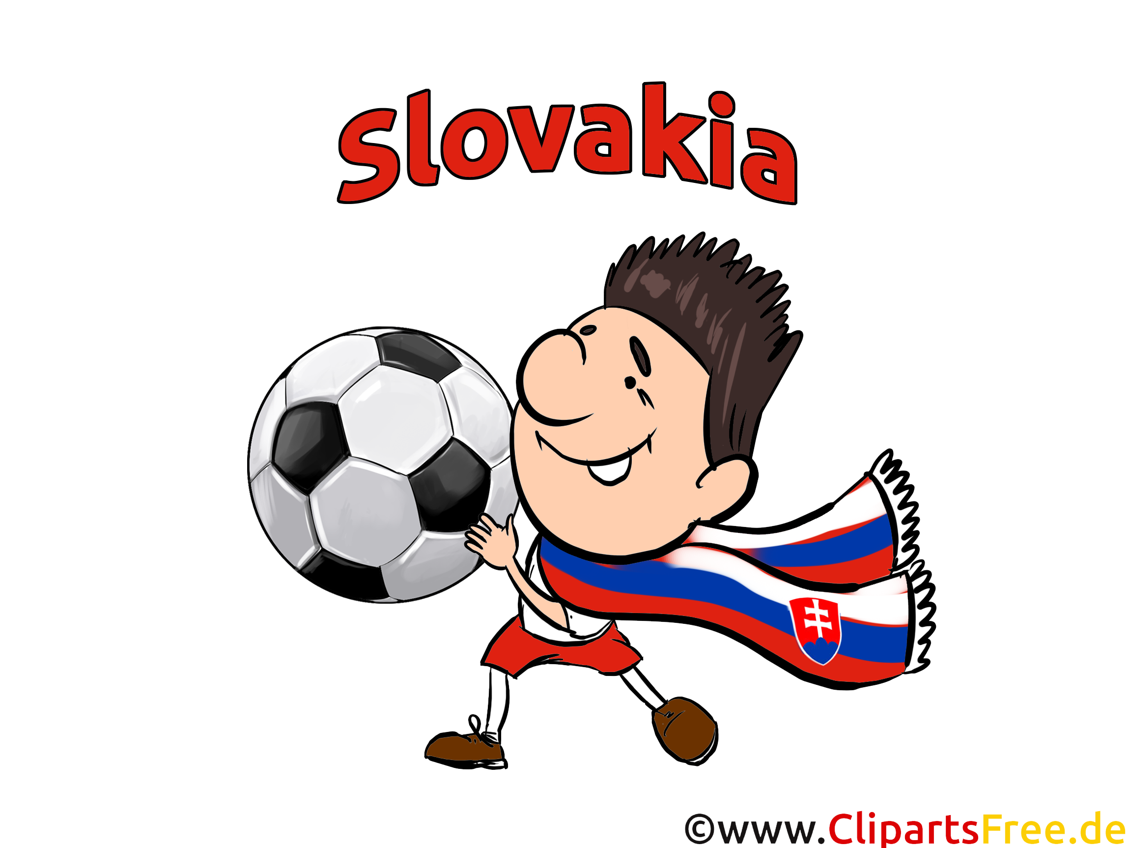 Joueur Slovaquie Football Soccer gratuit Image