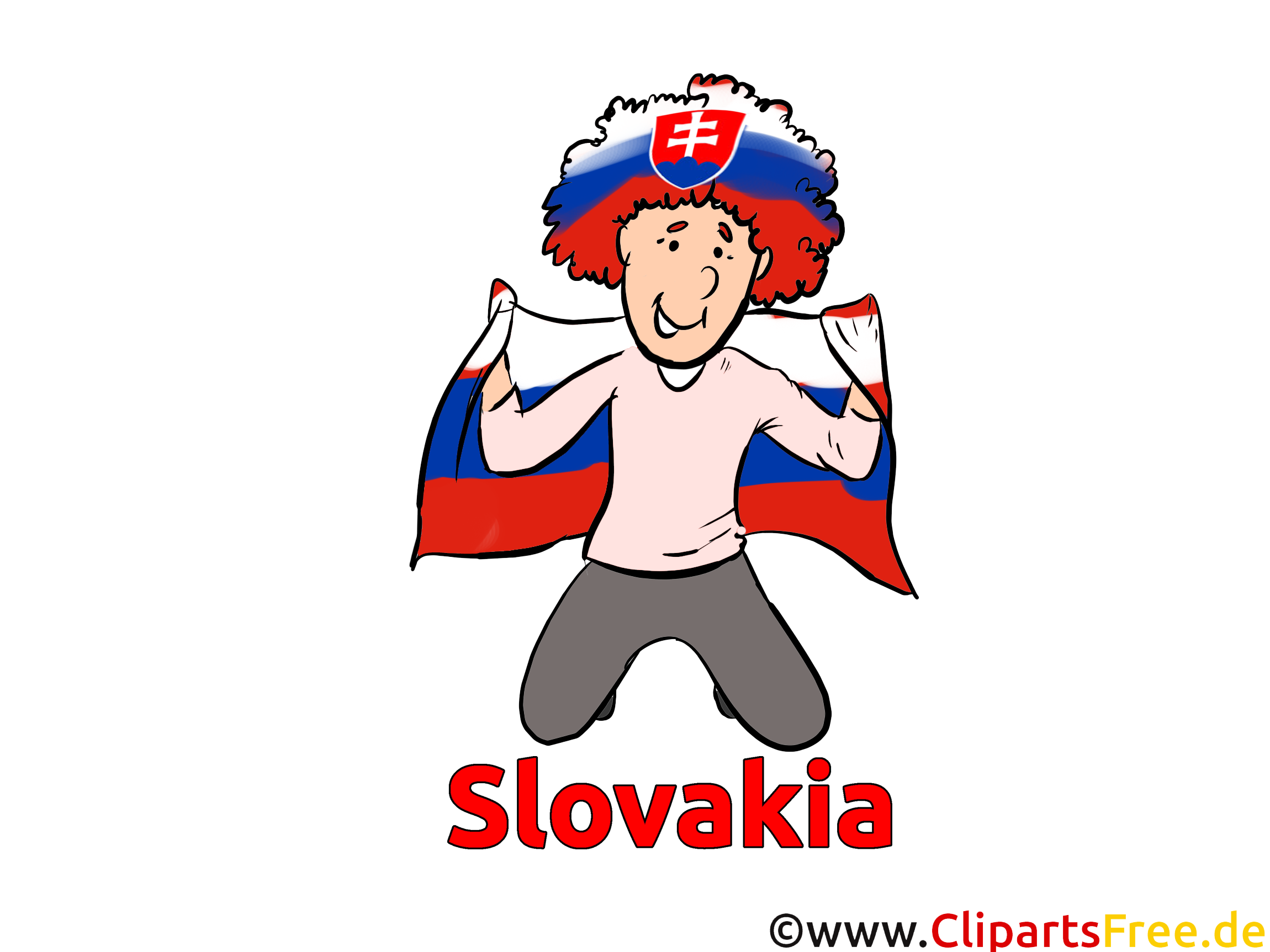 Soccer Slovaquie Images et Illustrations