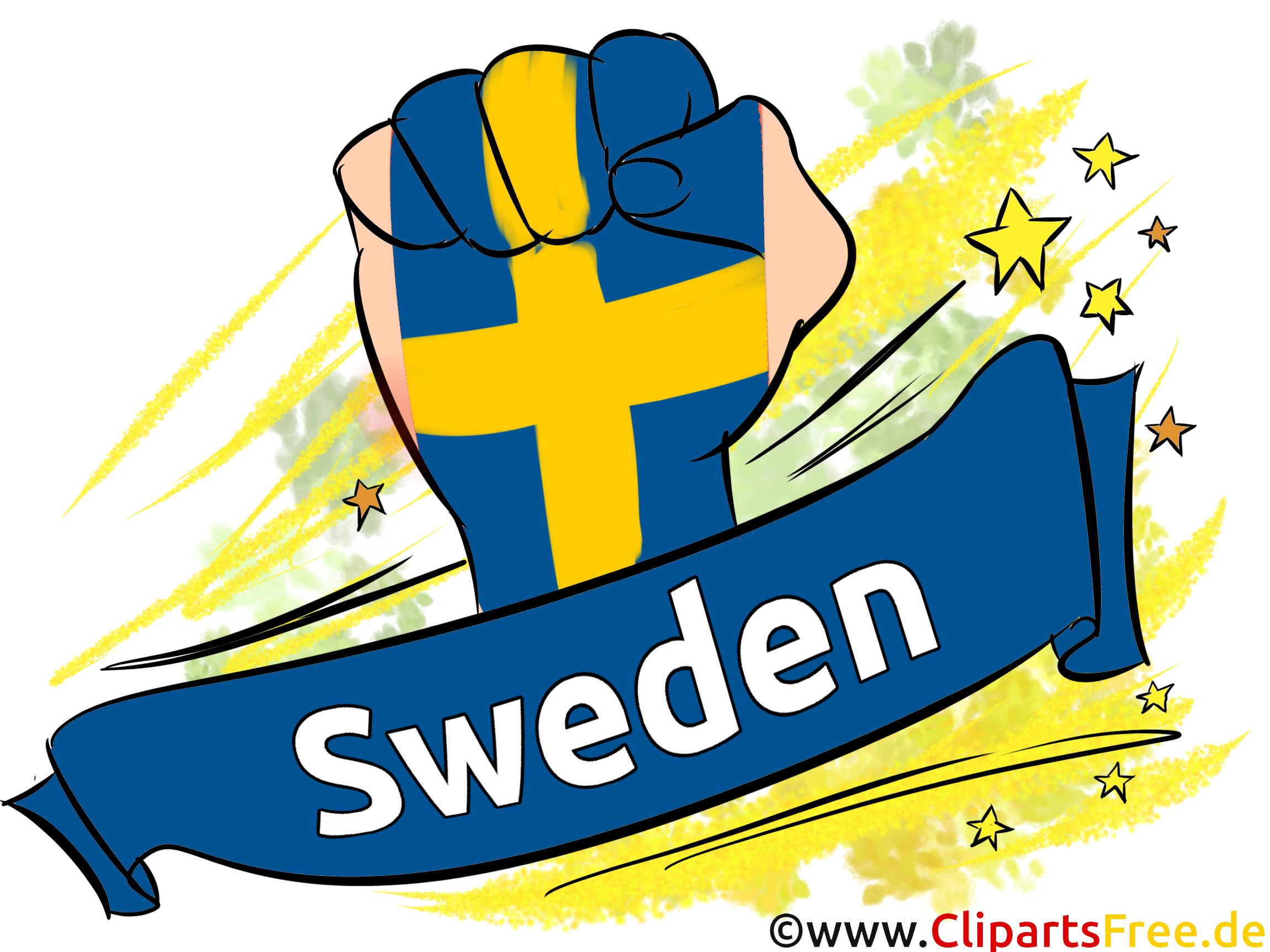 Clip art Suède Images Football pour télécharger