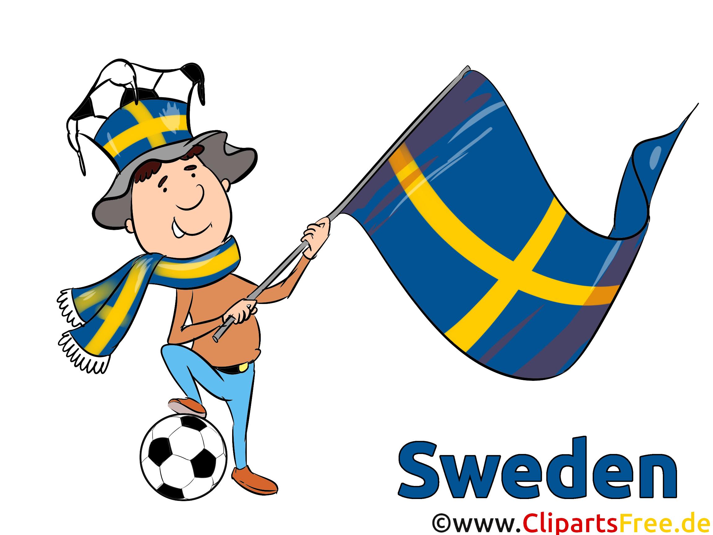 Drapeau Soccer Images et Illustrations Suède
