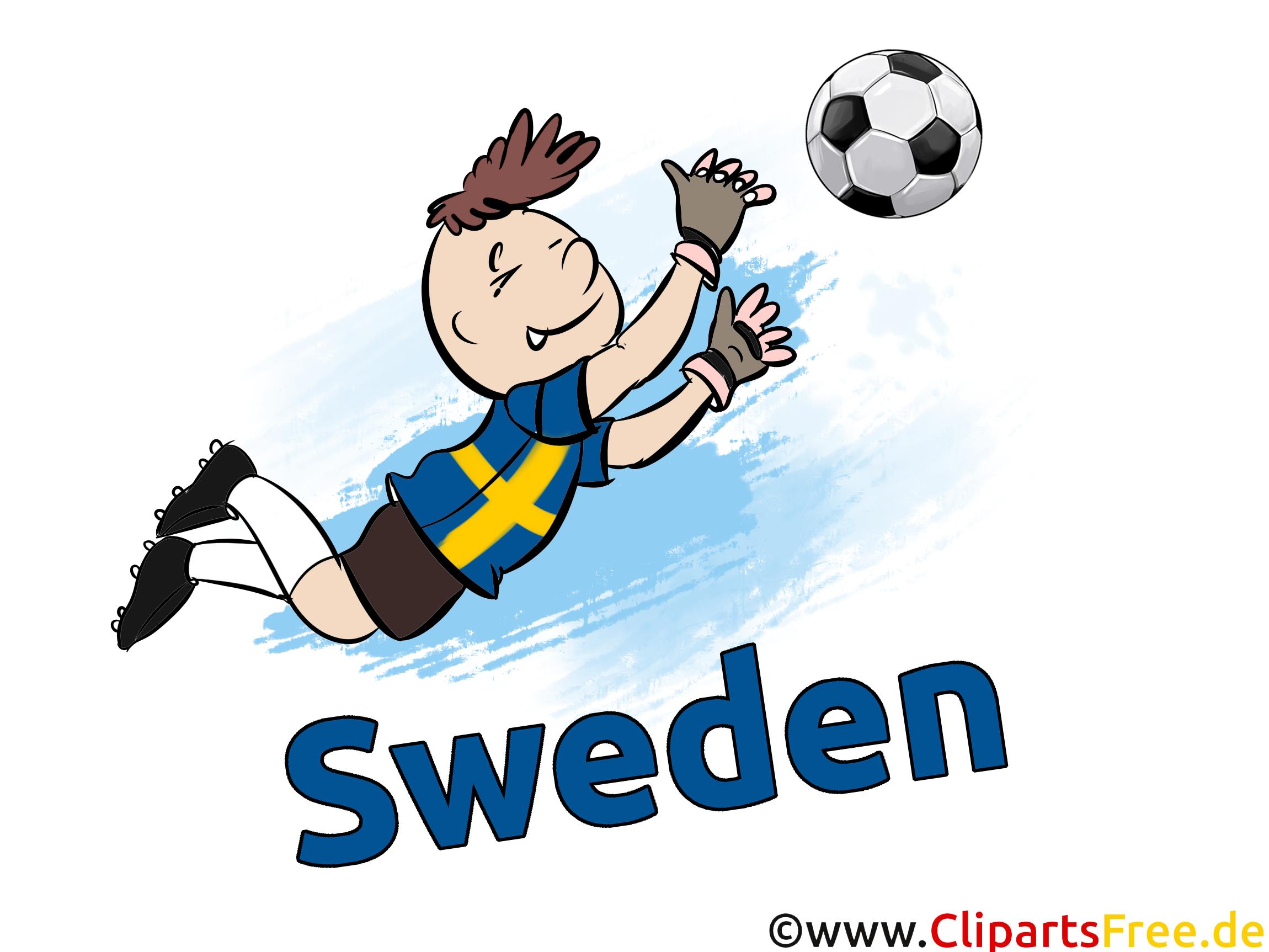 Joueurs Cliparts Soccer Suède pour télécharger