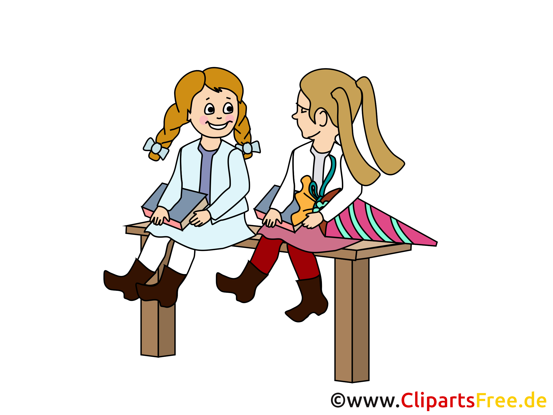 Bonne rentrée dessins gratuits – Début école clipart