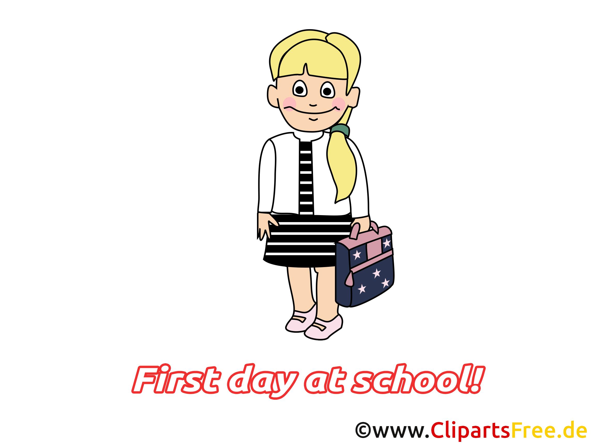 Maternelle image gratuite – Début école illustration