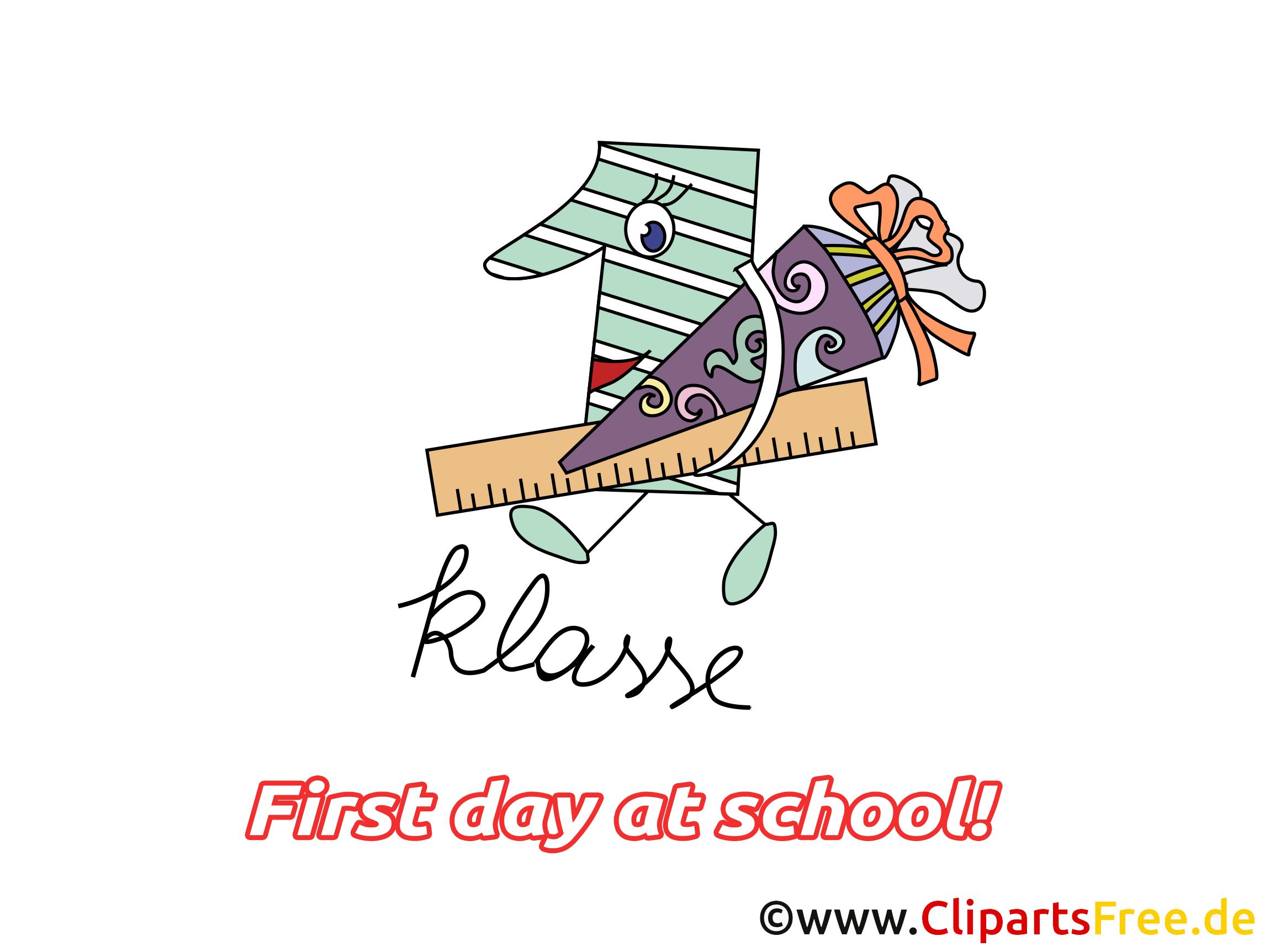 Premier jour d'école illustration – Début école images