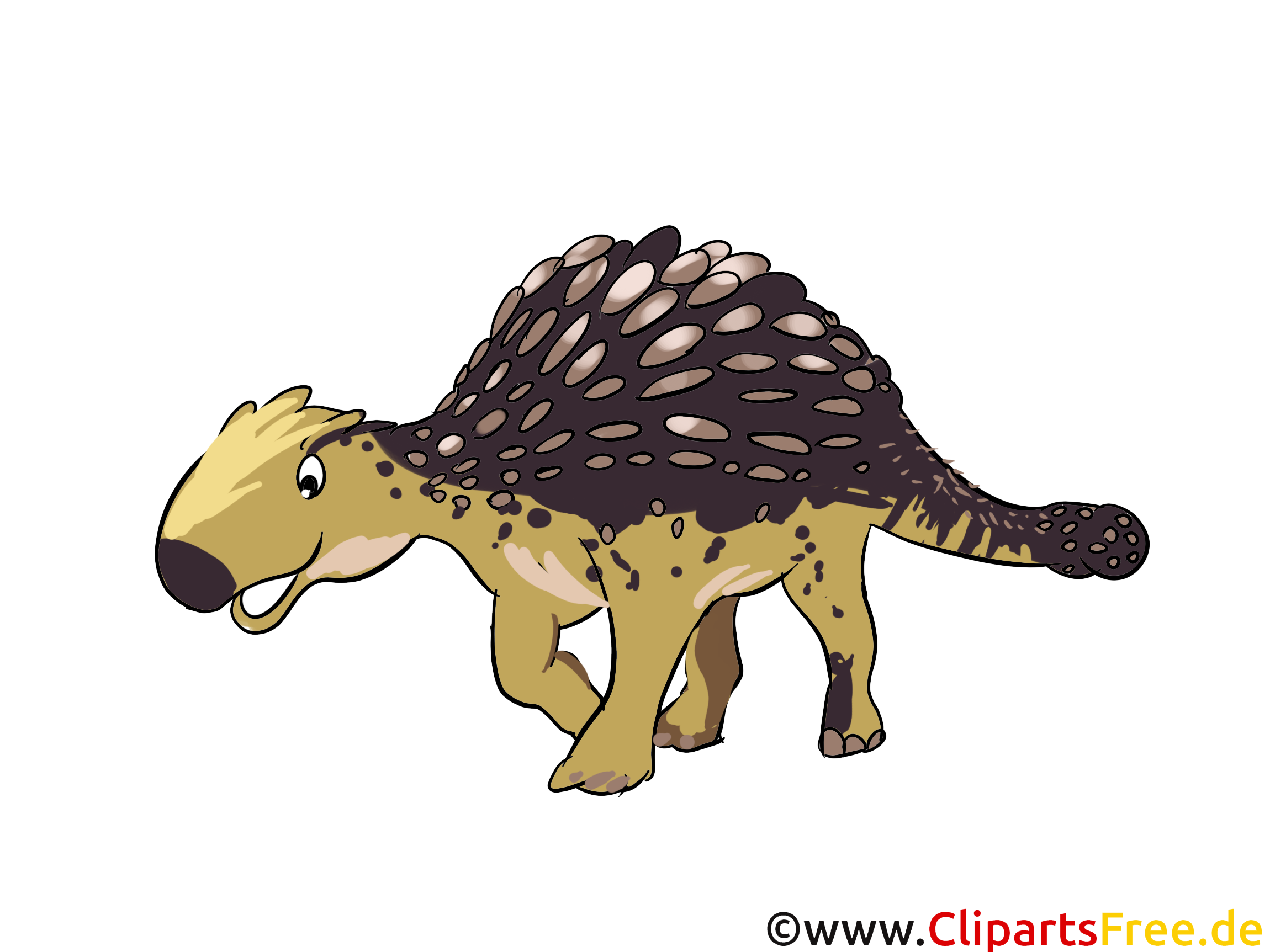 Ankylosaure illustration – Dinosaure images