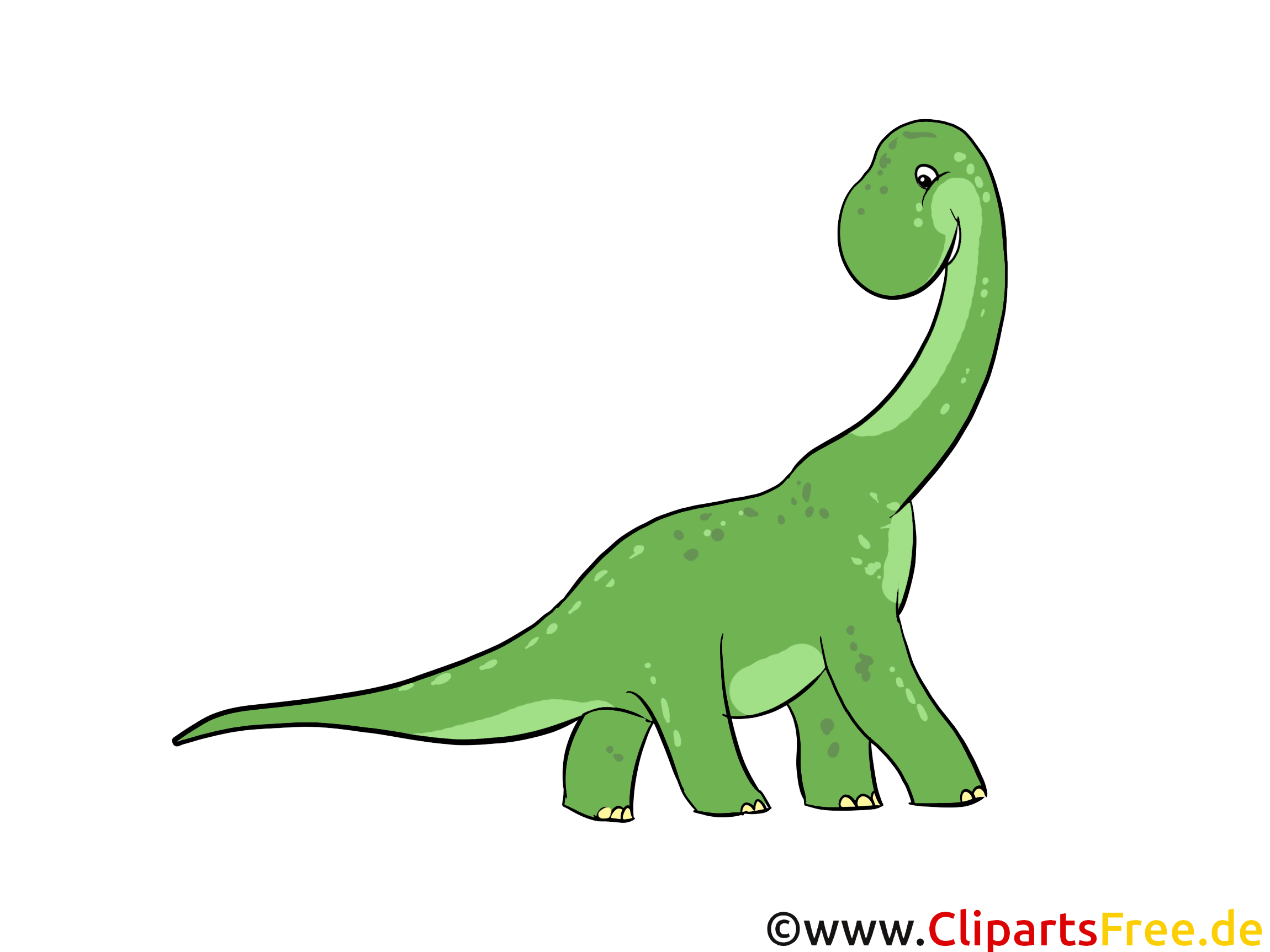 Clip arts gratuits dinosaure illustrations