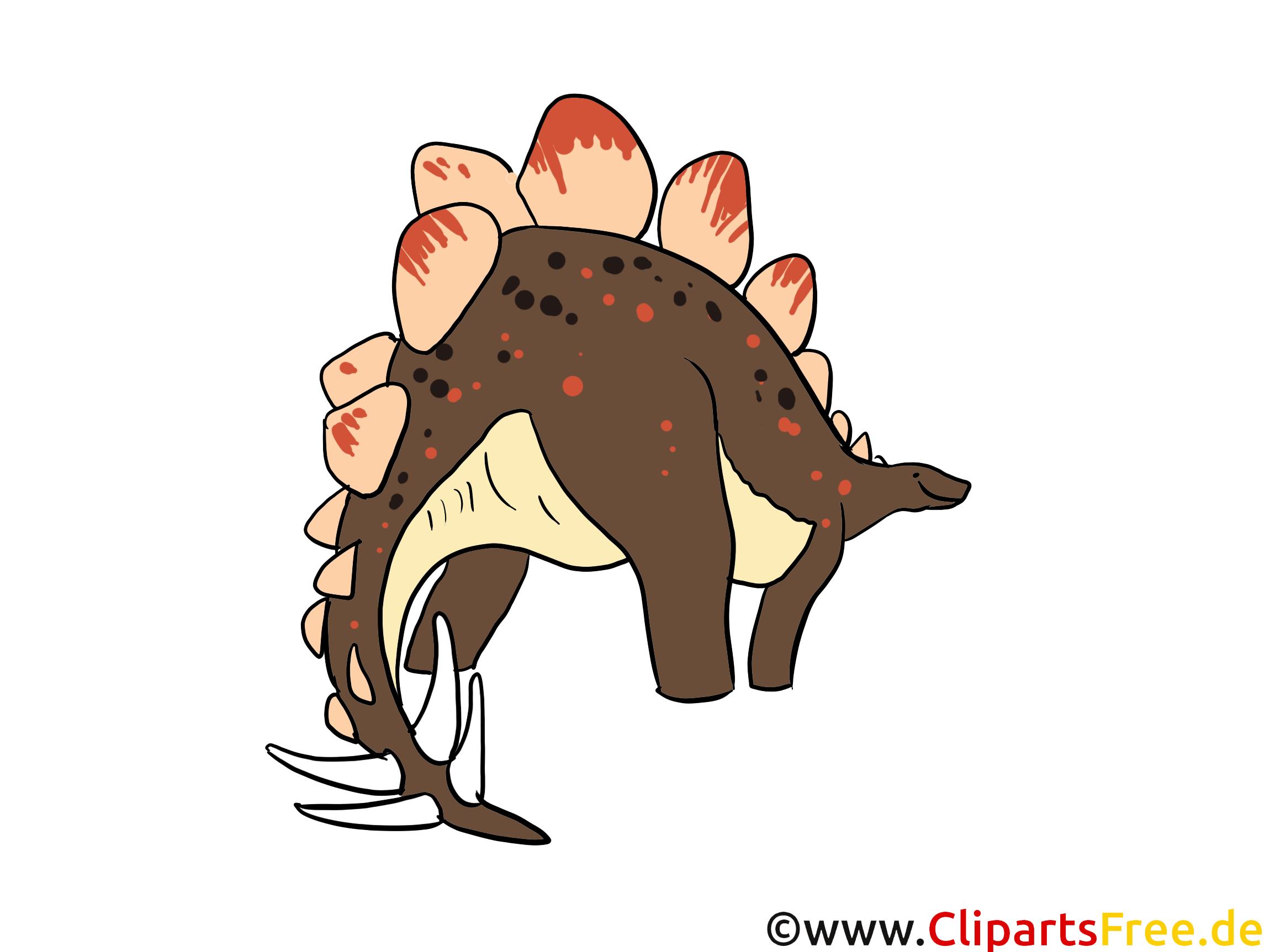 Stégosaurus dessin – Dinosaure à télécharger