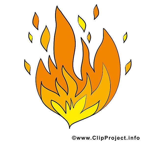 Incendie Illustration Gratuite Feu Clipart Divers Dessin