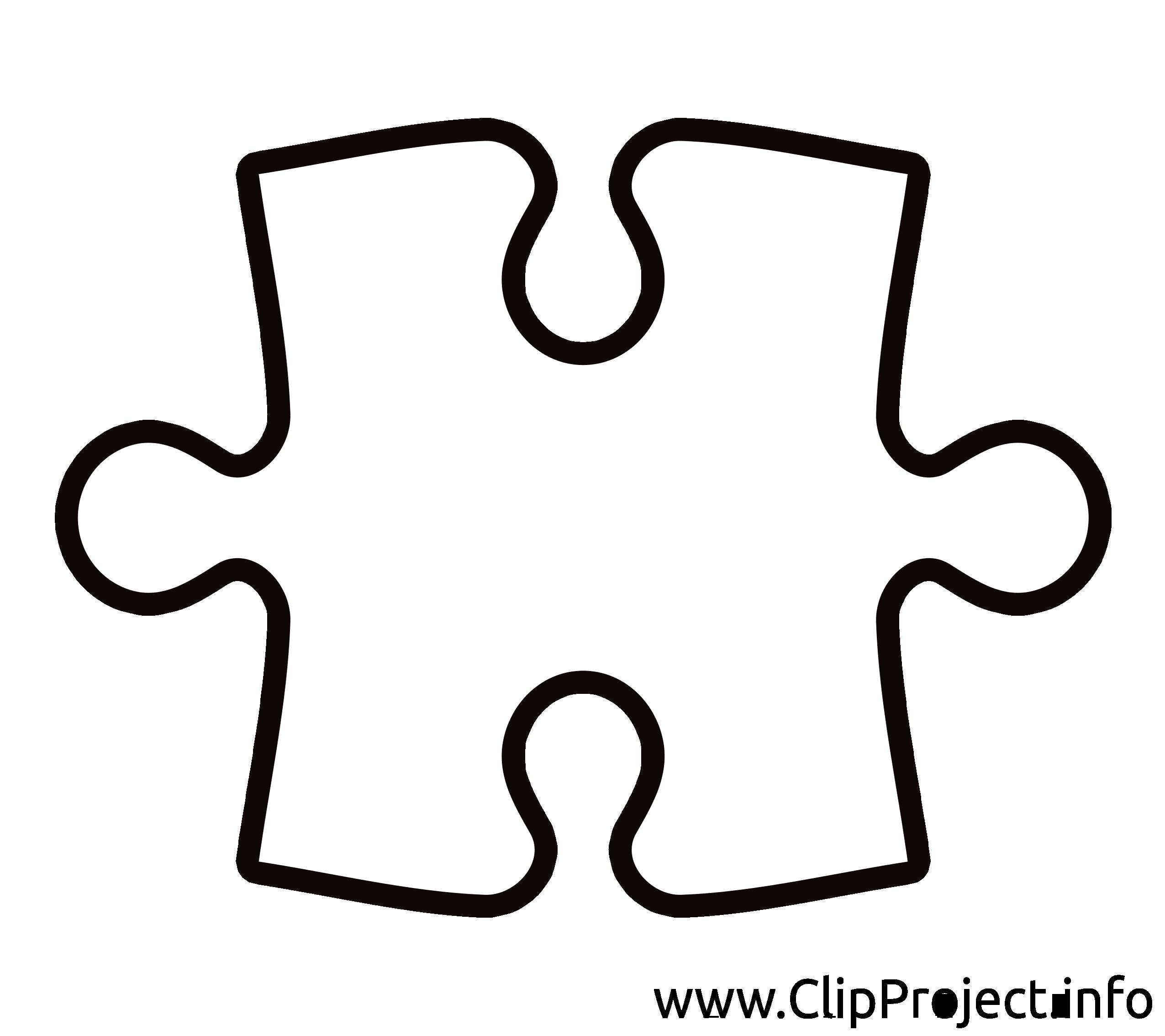 Puzzle cliparts gratuis images à imprimer - Divers dessin, picture, image, graphic, clip art ...