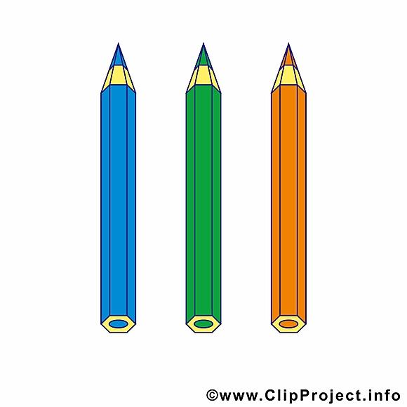 Crayons images – École dessins gratuits