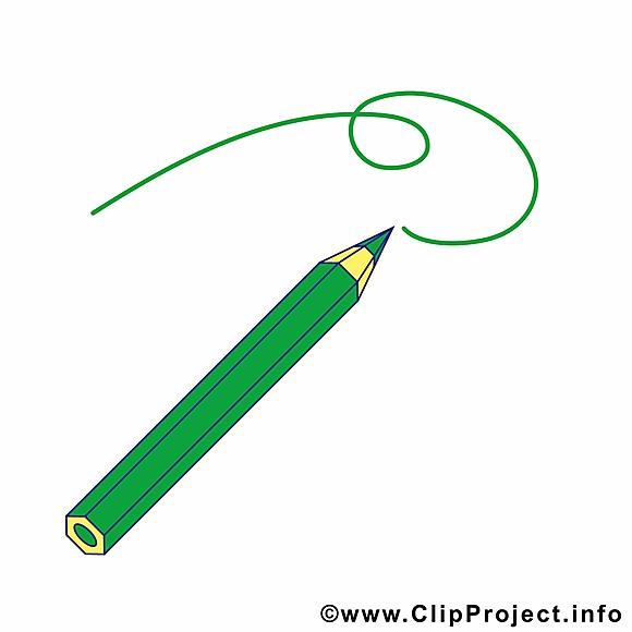 Dessin crayon clipart – École dessins gratuits