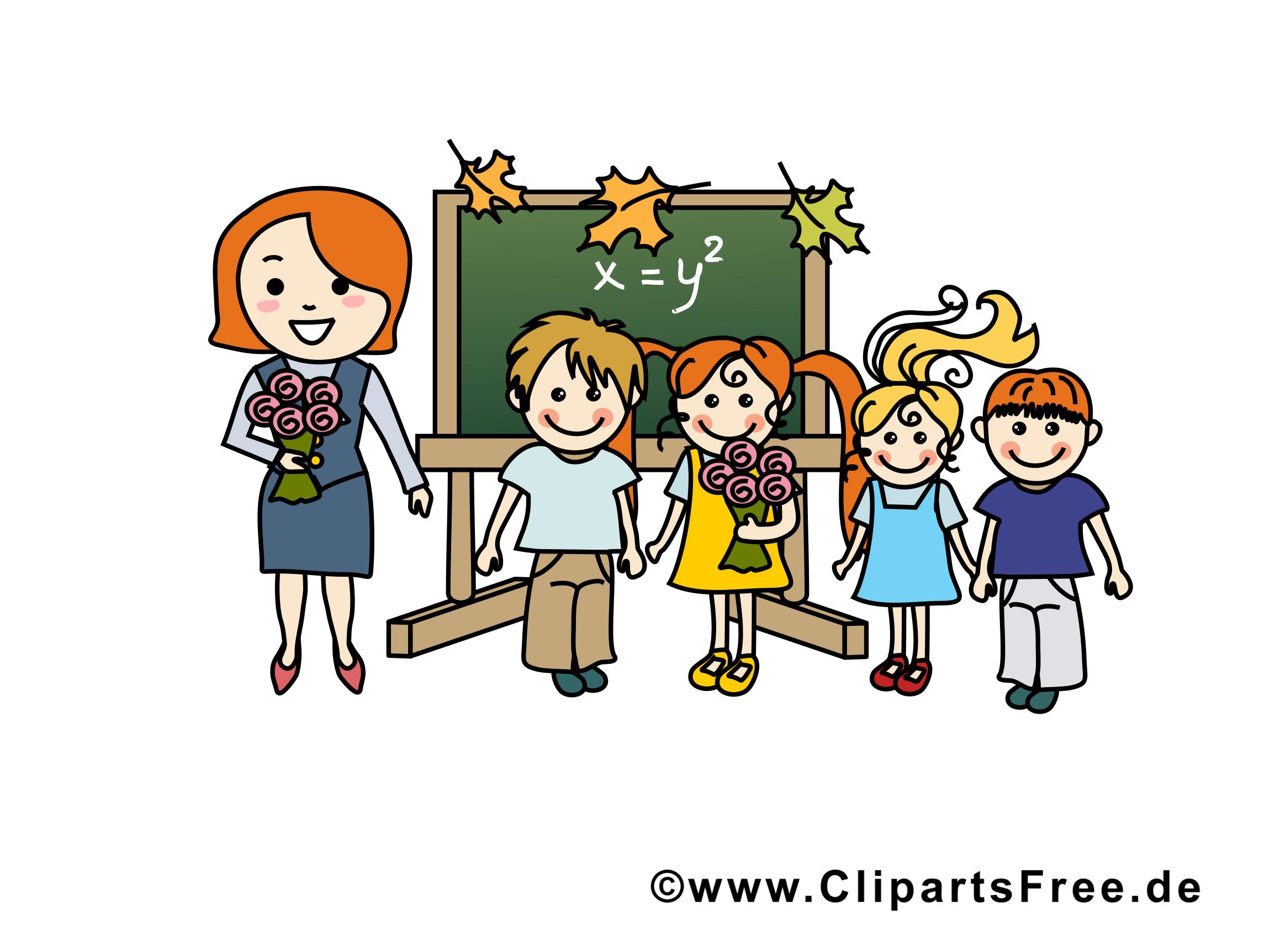 Enseignante image – École images cliparts