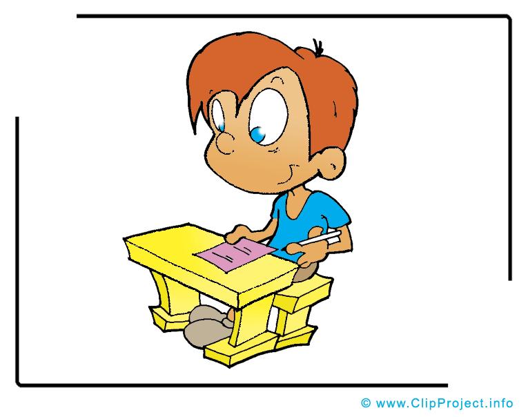 Examen illustration – École images