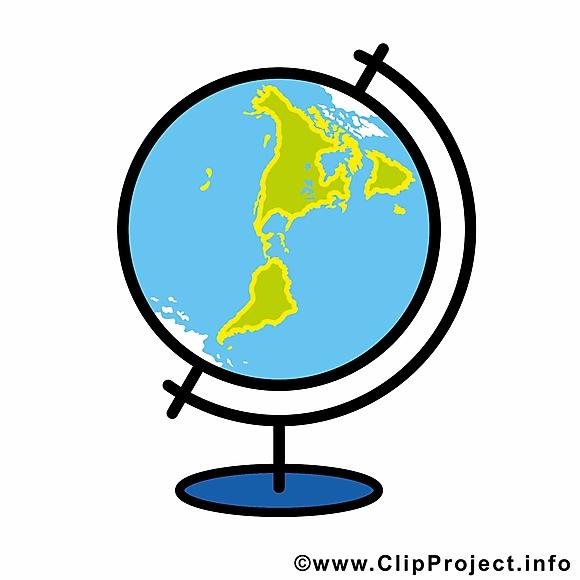 Globe dessin à télécharger – École images