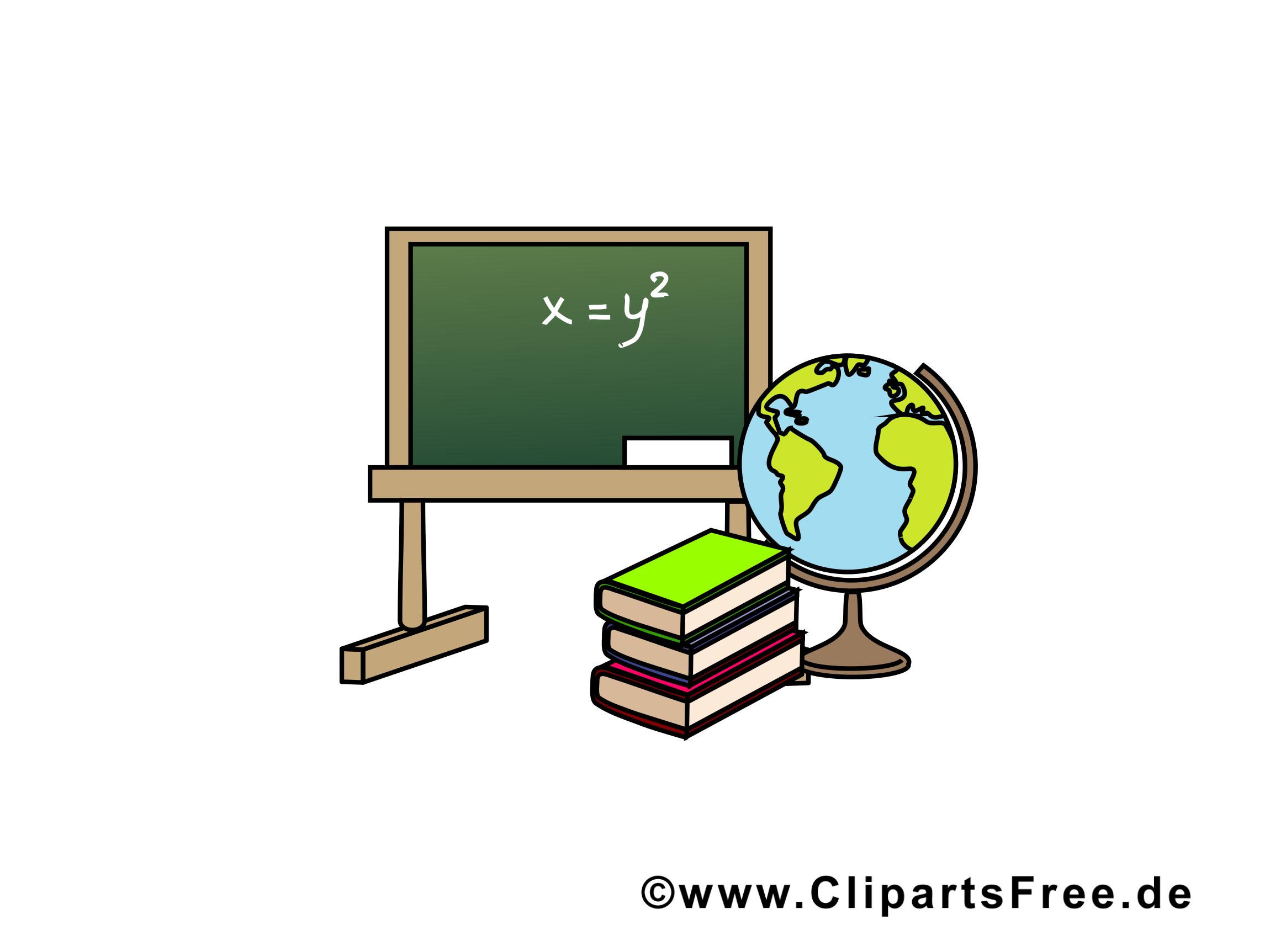 Tableau images gratuites – École clipart