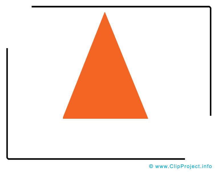 Triangle images – École clip art gratuit