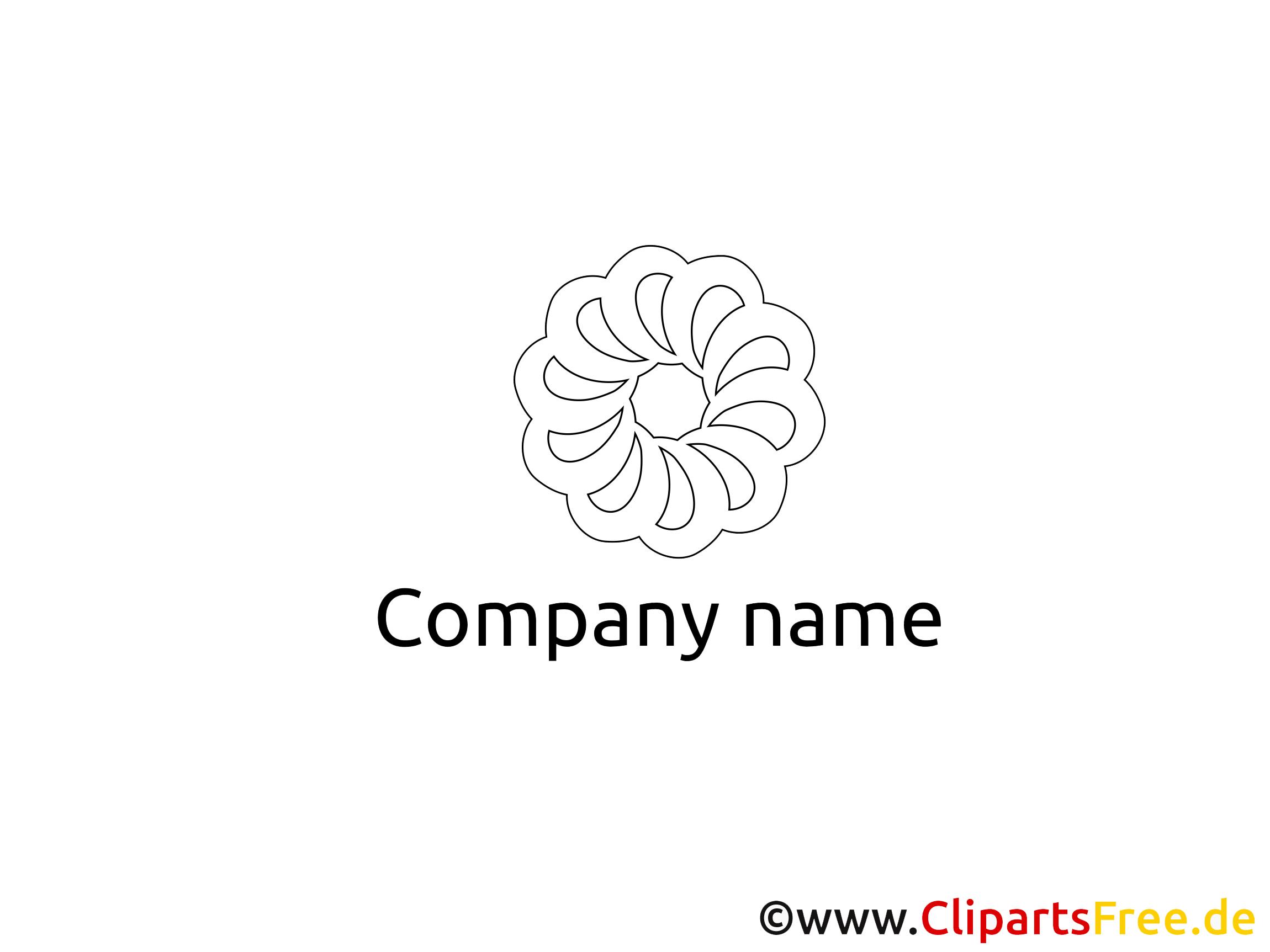 Clip art coloriage design – Logo gratuite