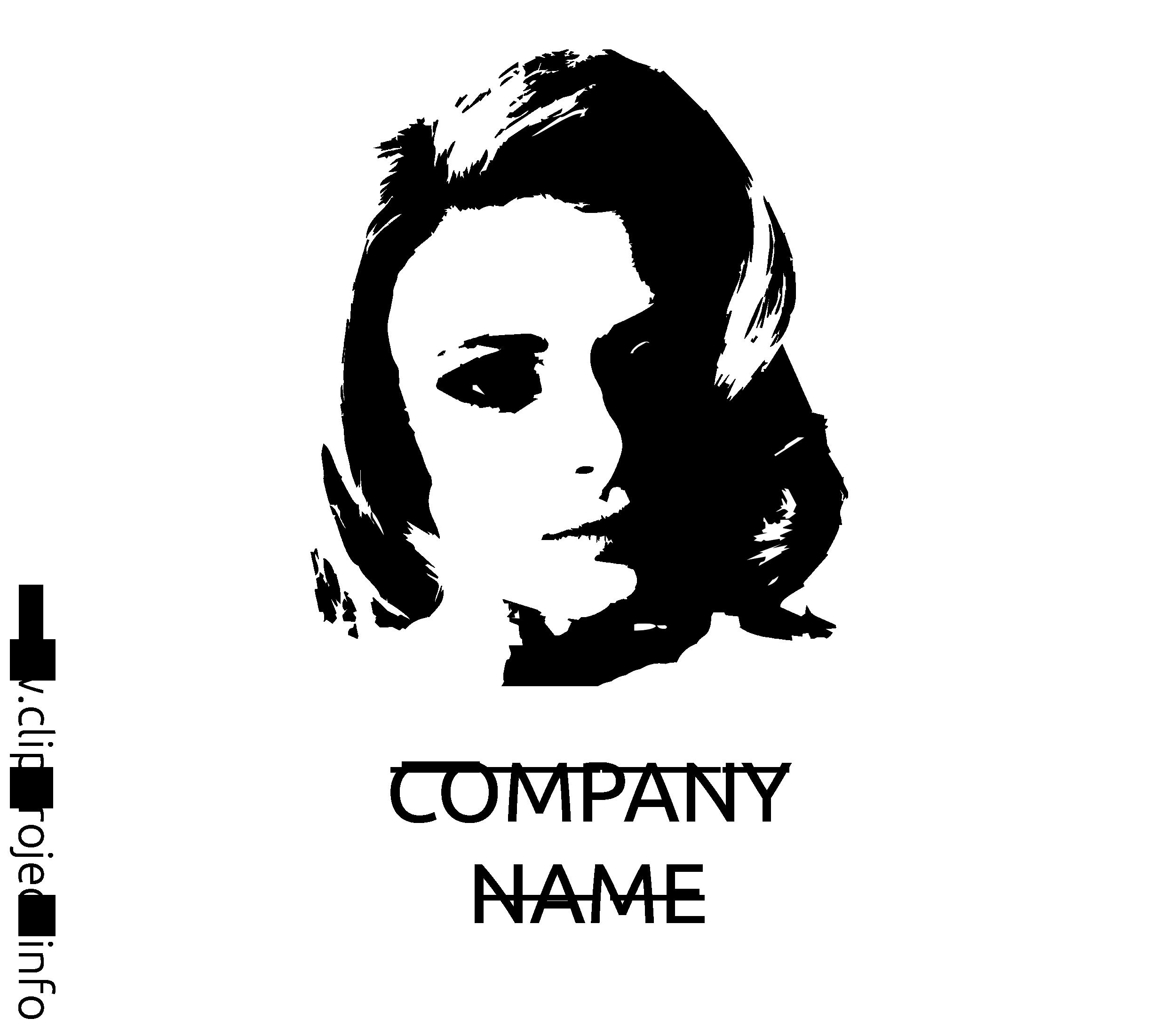 Femme logo illustration à télécharger gratuite