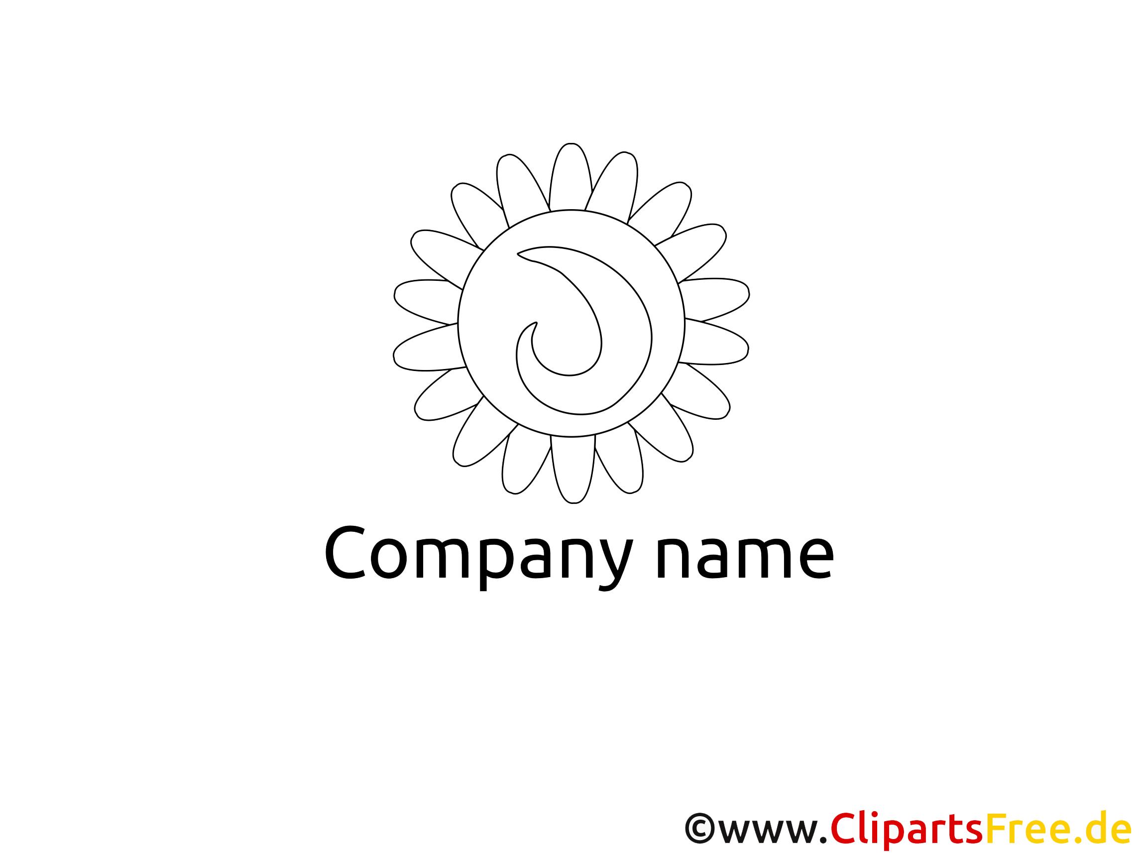 Images à colorier logo clipart à télécharger
