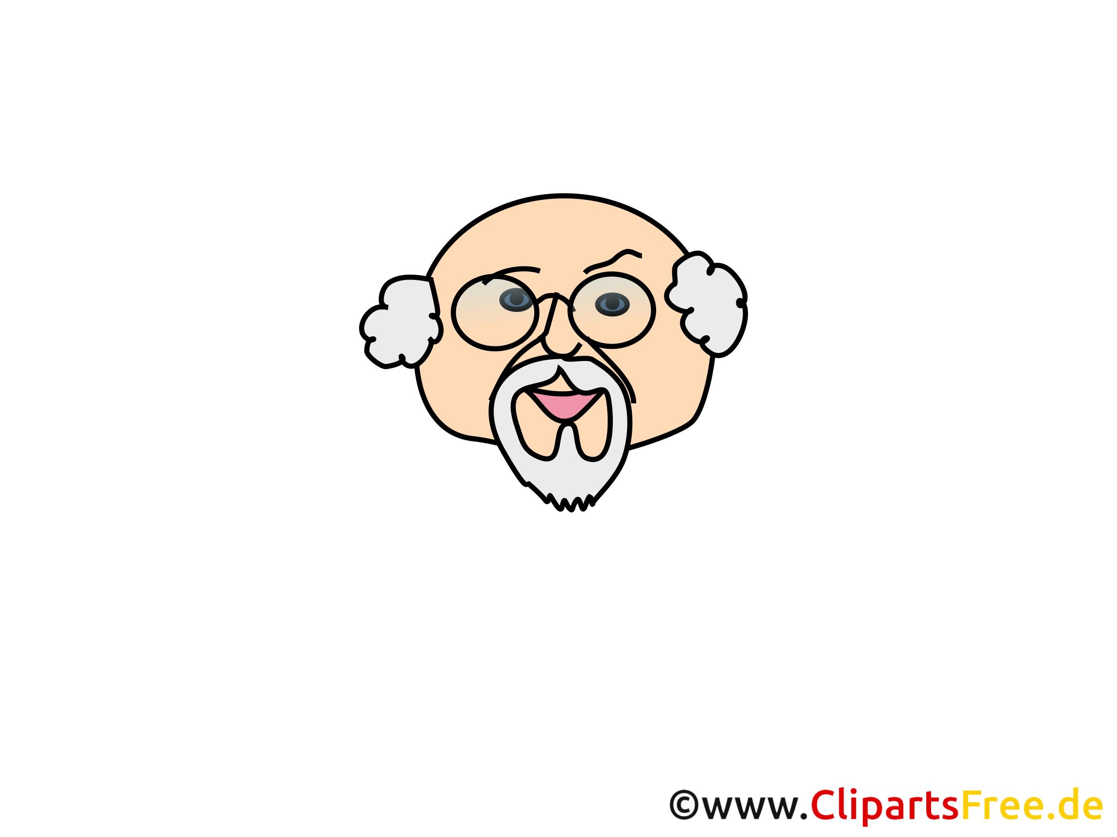 Grand-père image gratuite – Émoticônes cliparts