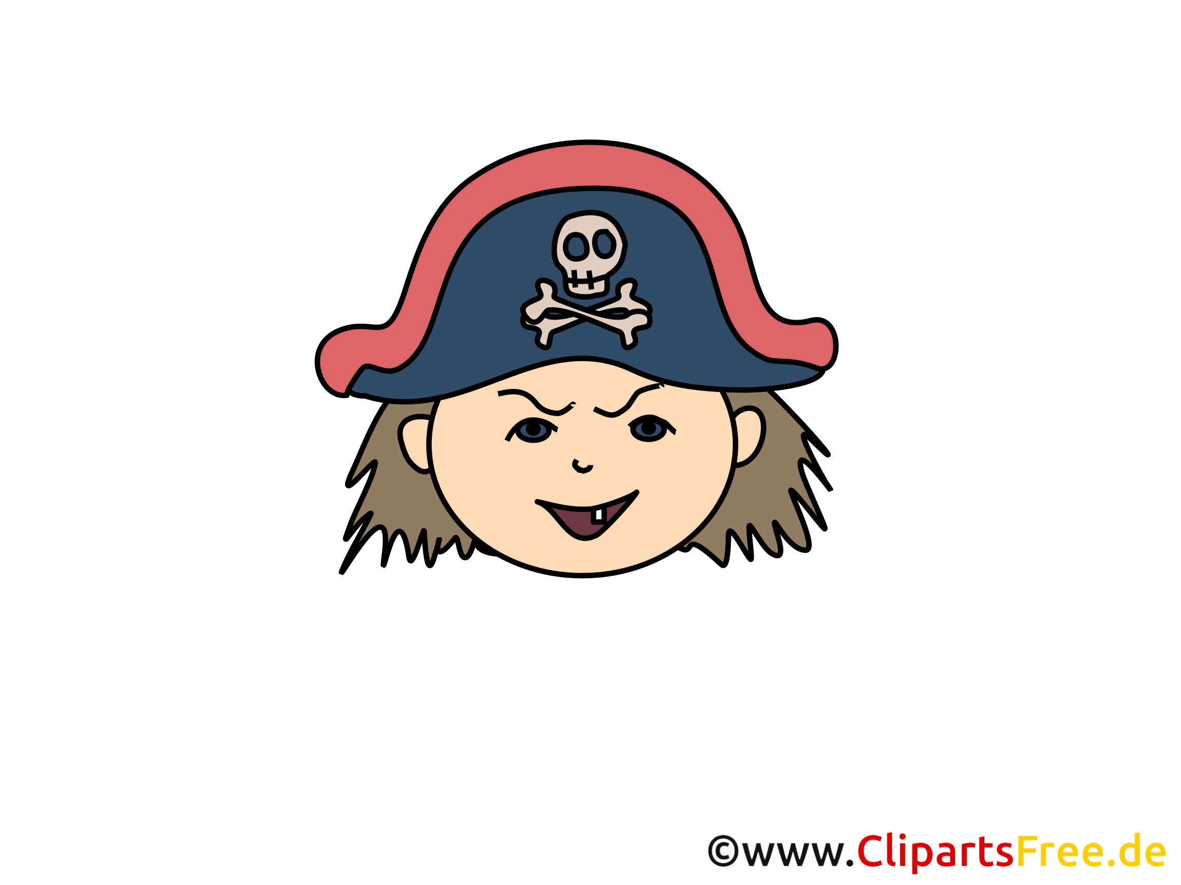 Pirate clipart – Émoticônes dessins gratuits