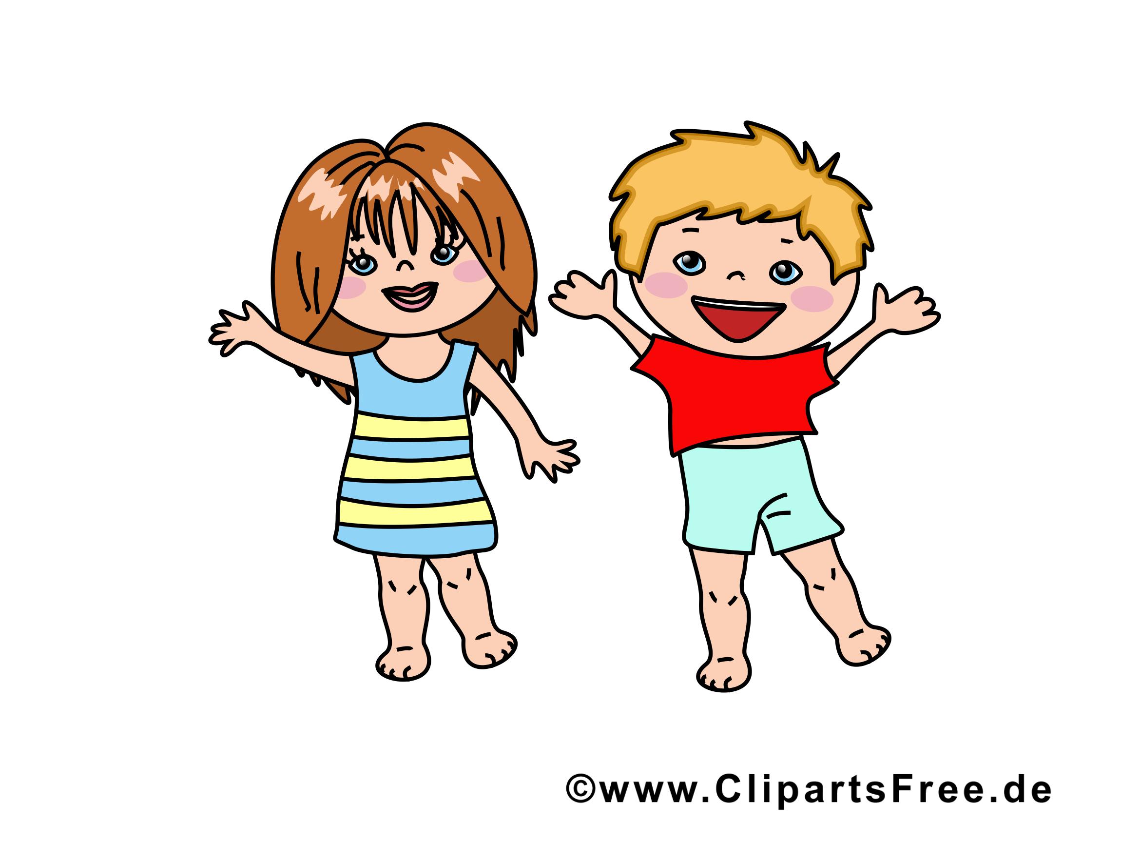 Amis enfants image à télécharger gratuite