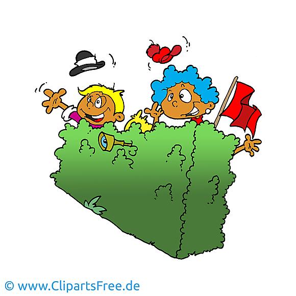 Cache-cache image gratuite - Enfants cliparts