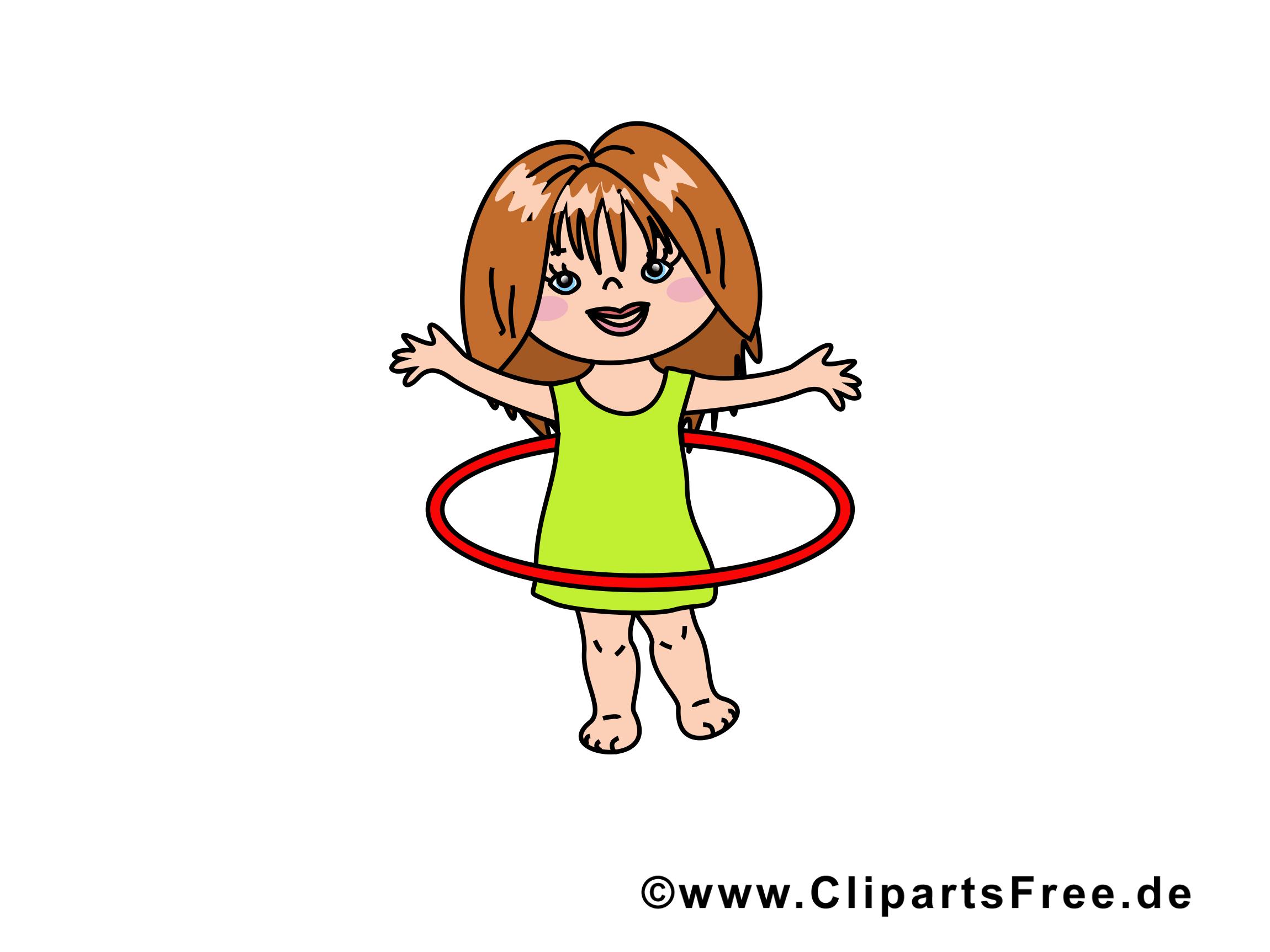 Cerceau fille image à télécharger gratuite