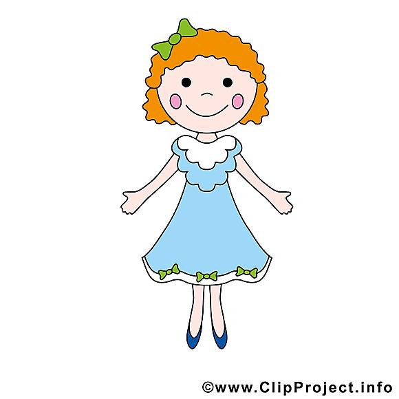 Petite fille image gratuite cliparts