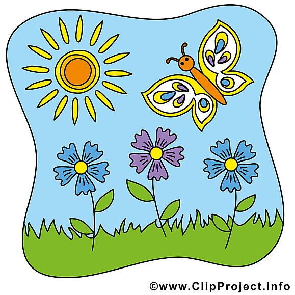 Top Fleurs soleil clipart gratuit – Été images - Été dessin, picture  TW07