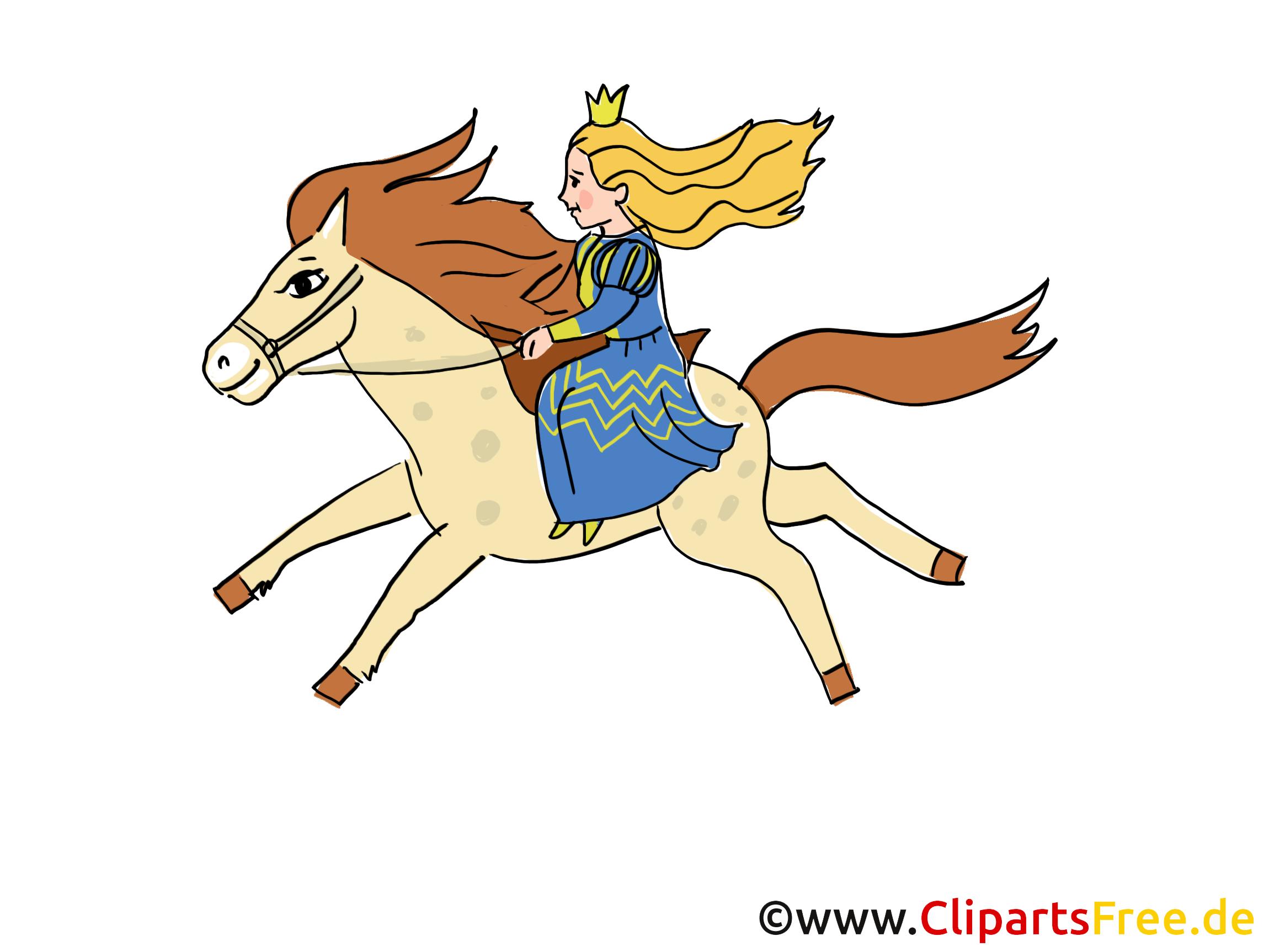 Clipart Cheval Gratuit cheval princesse clipart gratuit – conte de fées images - fable