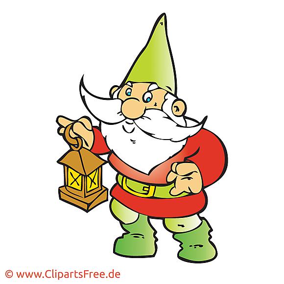 Gnome image – Conte de fées images cliparts